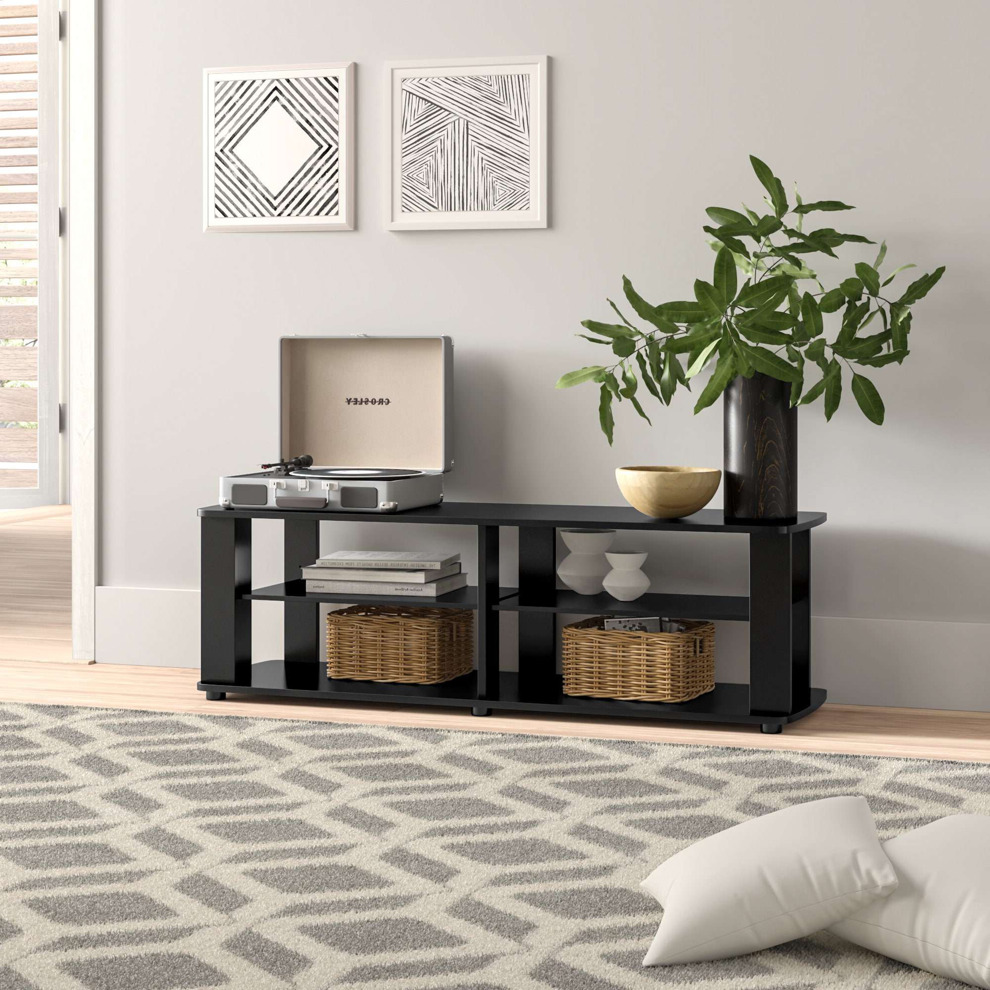 """Brittney Tv Stand For Tvs Up To 42"""" Pertaining To Ericka Tv Stands For Tvs Up To 42"""" (View 3 of 20)"""