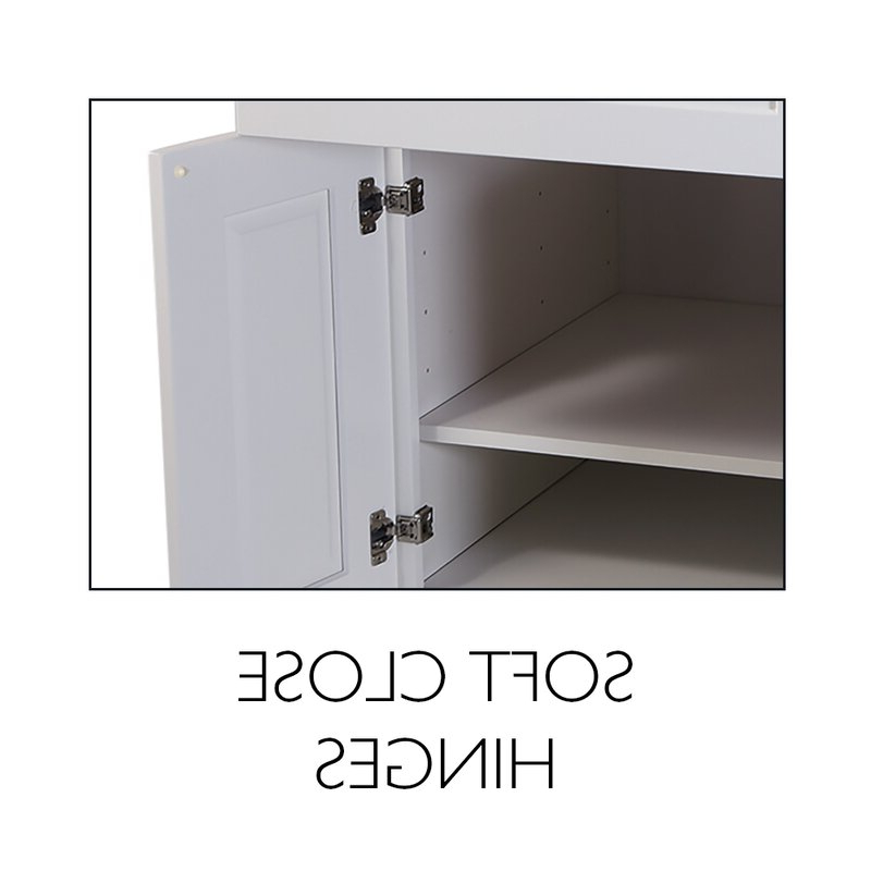 """Brookings Kitchen Pantry With Widely Used Brookings 84"""" Kitchen Pantry (View 8 of 20)"""