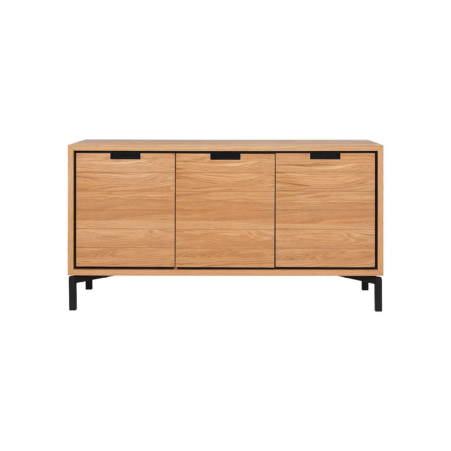 Buffets Atelier Buffet 3 Door 1 Drawer Extra Long Sideboard With Palisade Sideboards (View 20 of 20)