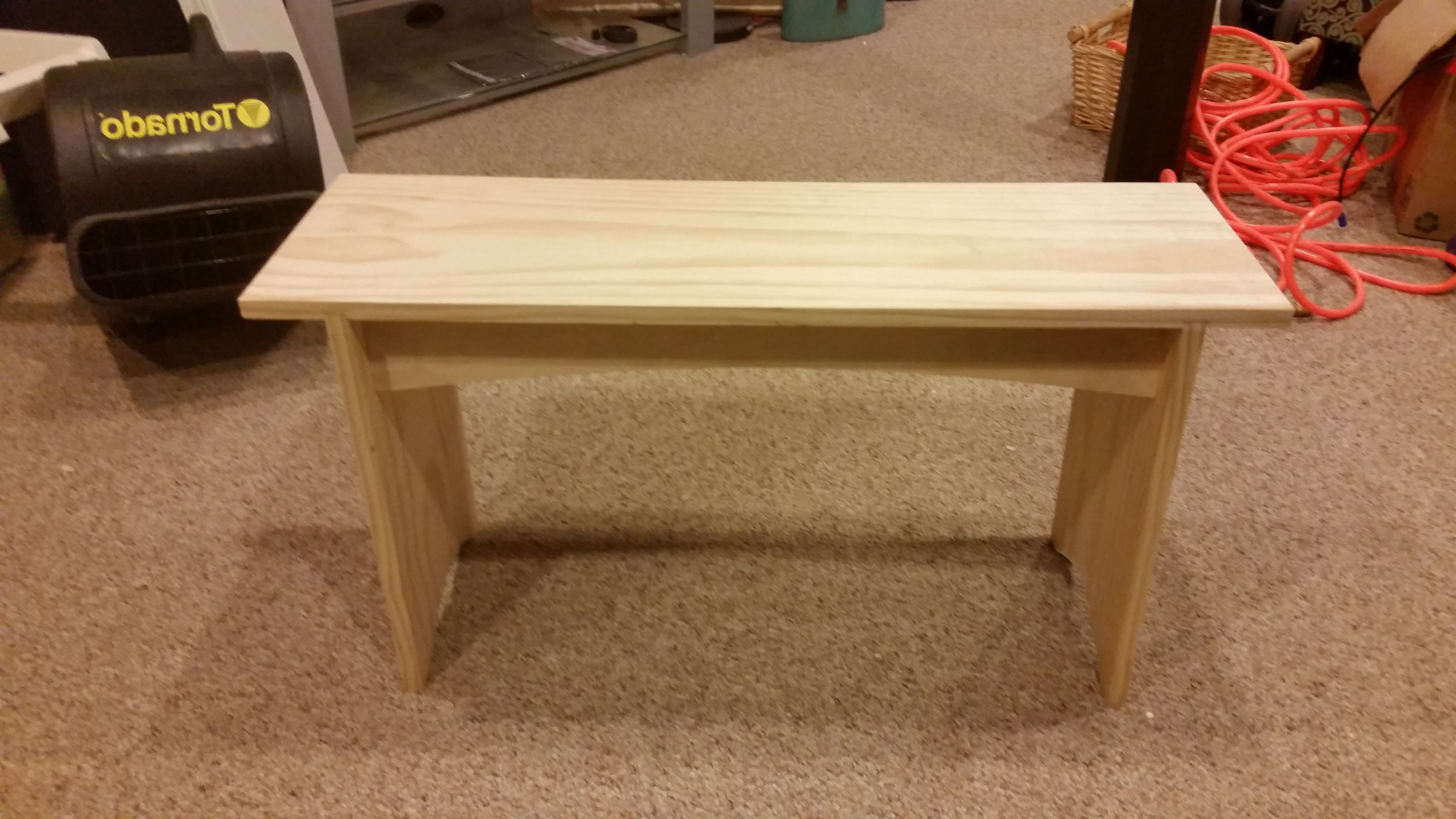 Buy A Handmade Bench, Made To Order From Manny's Woodworking Regarding Well Known Sawyer Industrial Reclaimed Rectangular Cocktail Tables (View 15 of 20)