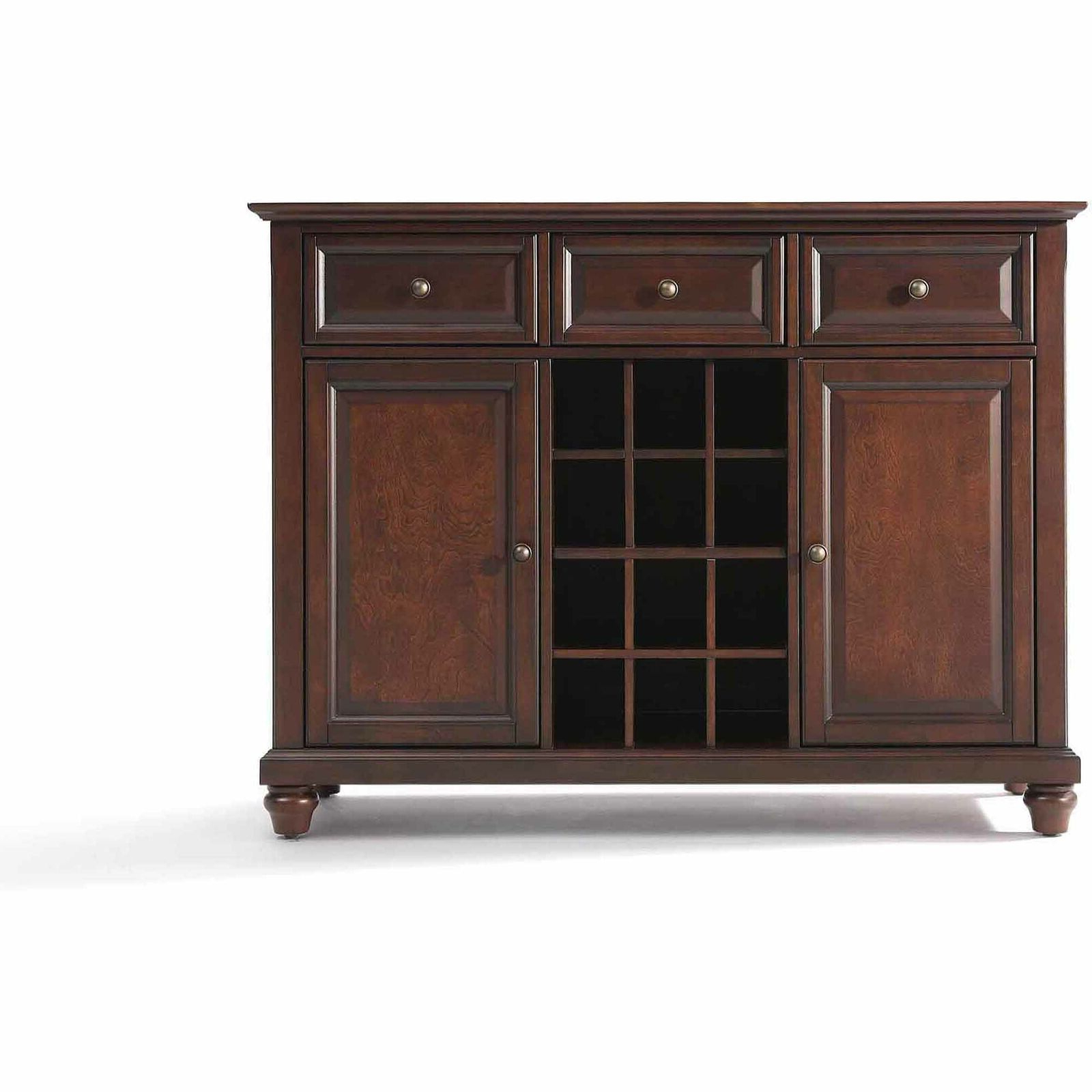 Cambridge Buffet Server / Sideboard Cabinet With Wine Storage Throughout Cher Sideboards (View 10 of 20)
