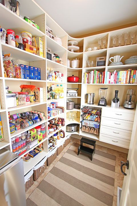 Camila Kitchen Pantry Pertaining To Popular New House Tour } Pantry Makeover Before And After Photos (View 7 of 20)