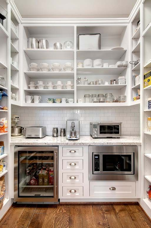 Camila Kitchen Pantry Within Well Known Traditional Luxury Pantry Design (View 11 of 20)