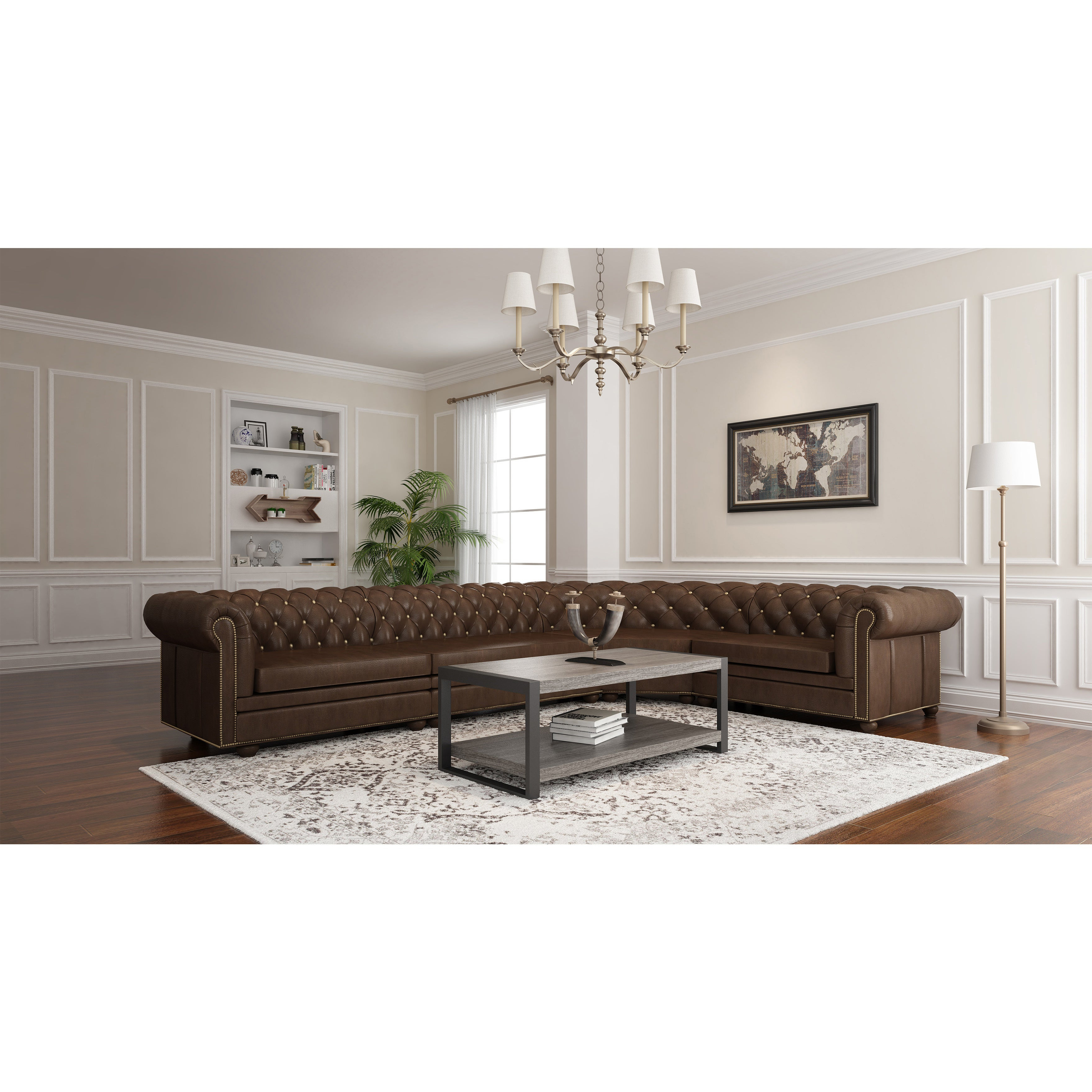 Carbon Loft Hamilton 48 Inch Coffee Table – 48 X 24 X 18H With Regard To Famous Carbon Loft Hamilton 48 Inch Coffee Tables (View 9 of 20)