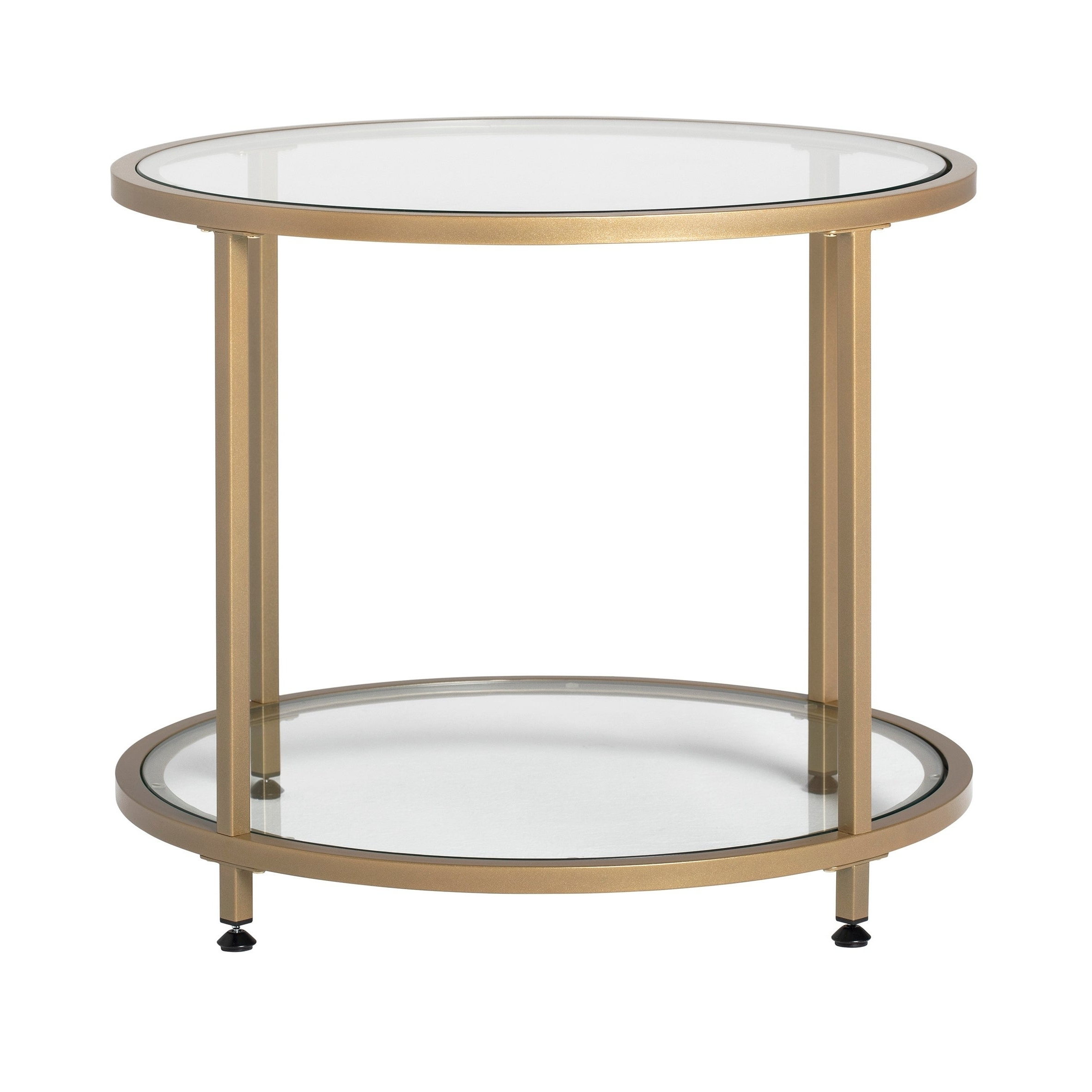 Carbon Loft Heimlich Pewter Metal Round Side Table With Most Popular Carbon Loft Heimlich Metal Glass Rectangle Coffee Tables (View 10 of 20)