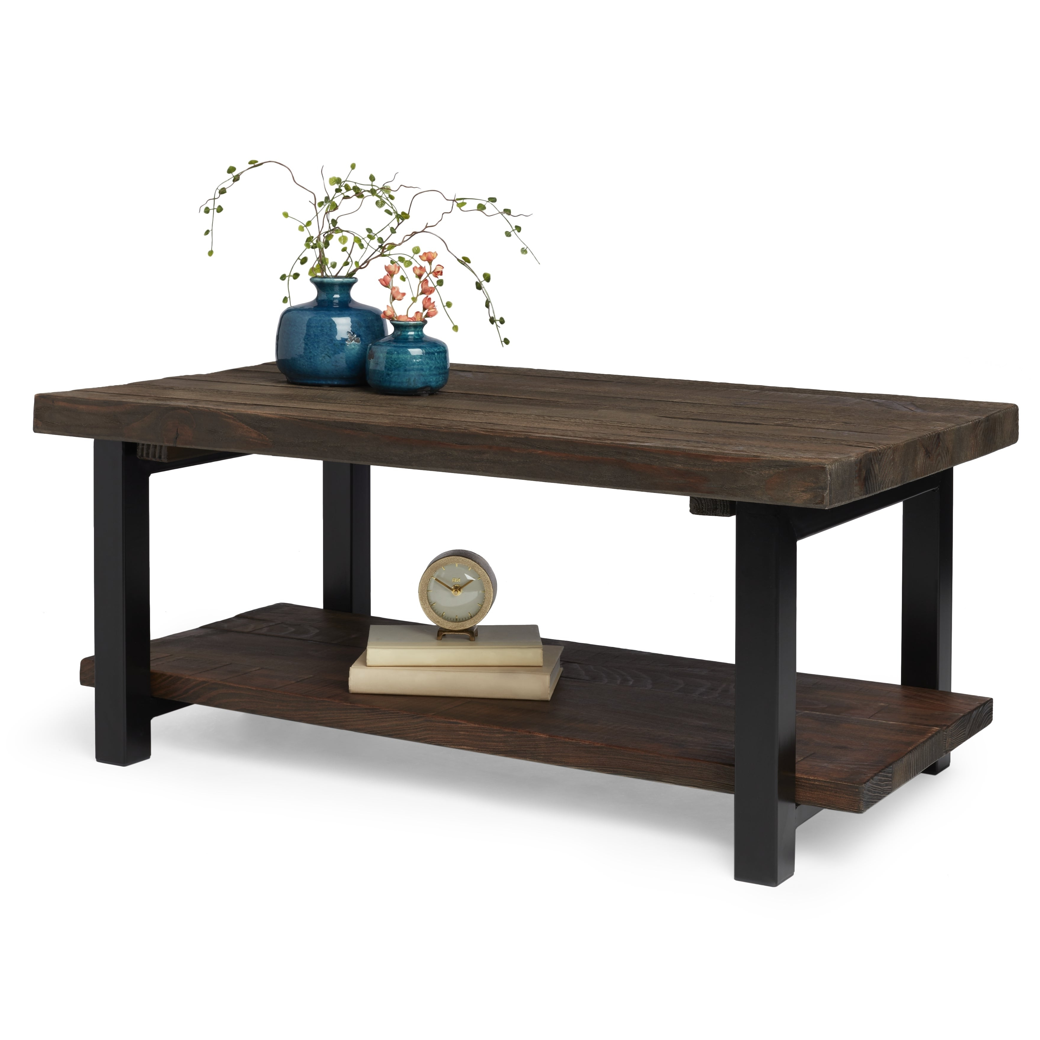 Featured Photo of Carbon Loft Lawrence Reclaimed Wood 42 Inch Coffee Tables