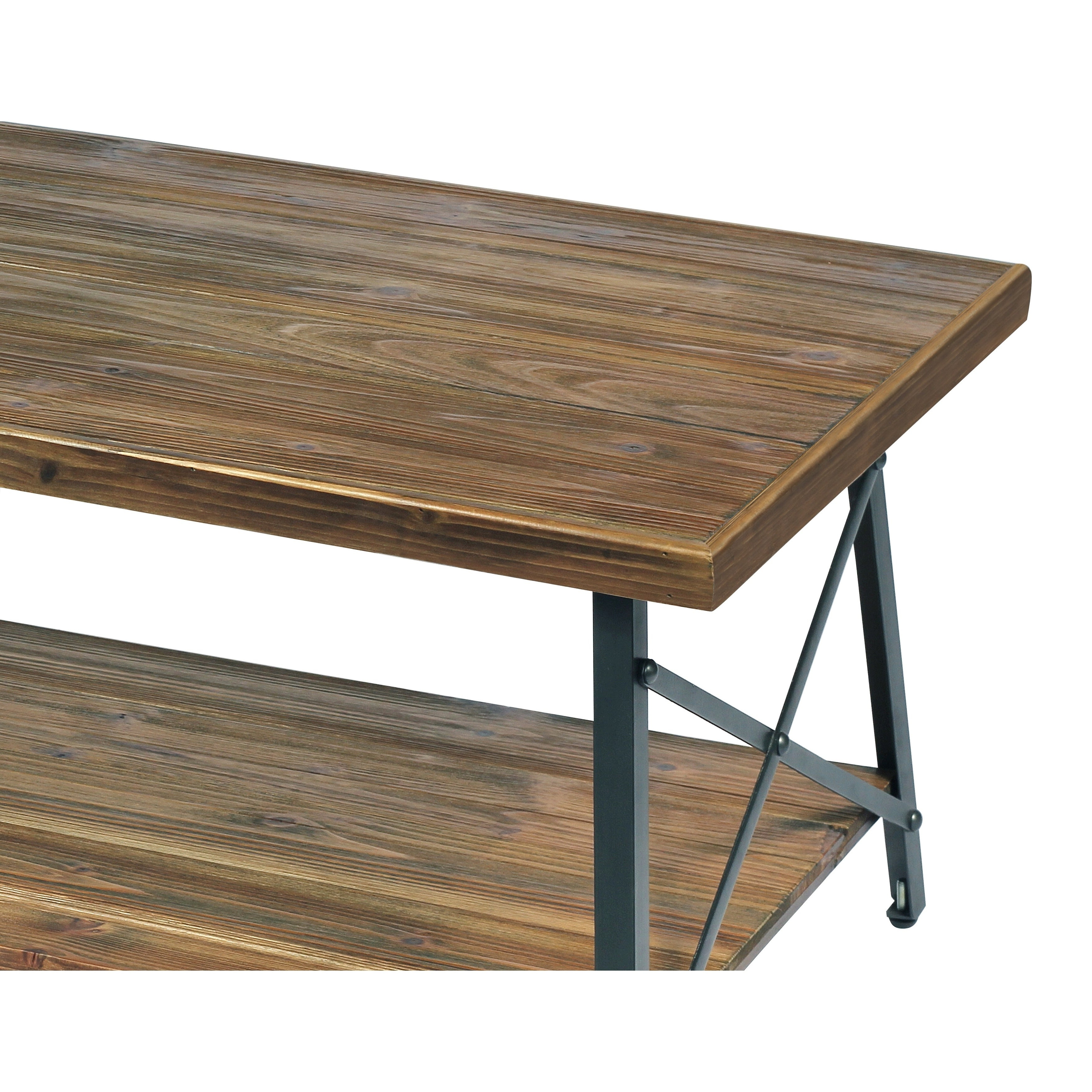 Carbon Loft Oliver Modern Rustic Natural Fir Coffee Table Intended For Well Known Carbon Loft Kenyon Natural Rustic Coffee Tables (View 15 of 20)