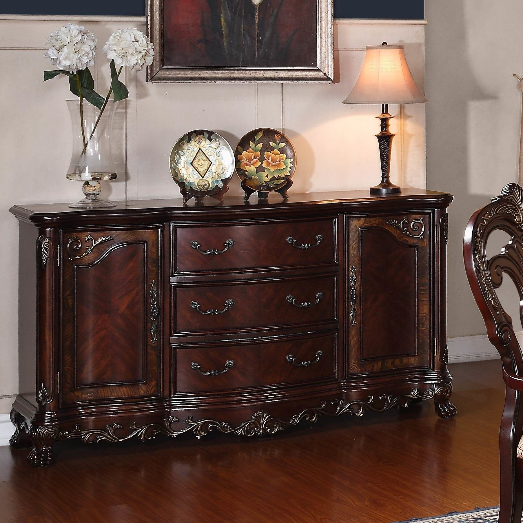 Chalus Sideboard In 2019 | Sideboard Buffet | Traditional With Chalus Sideboards (View 8 of 20)