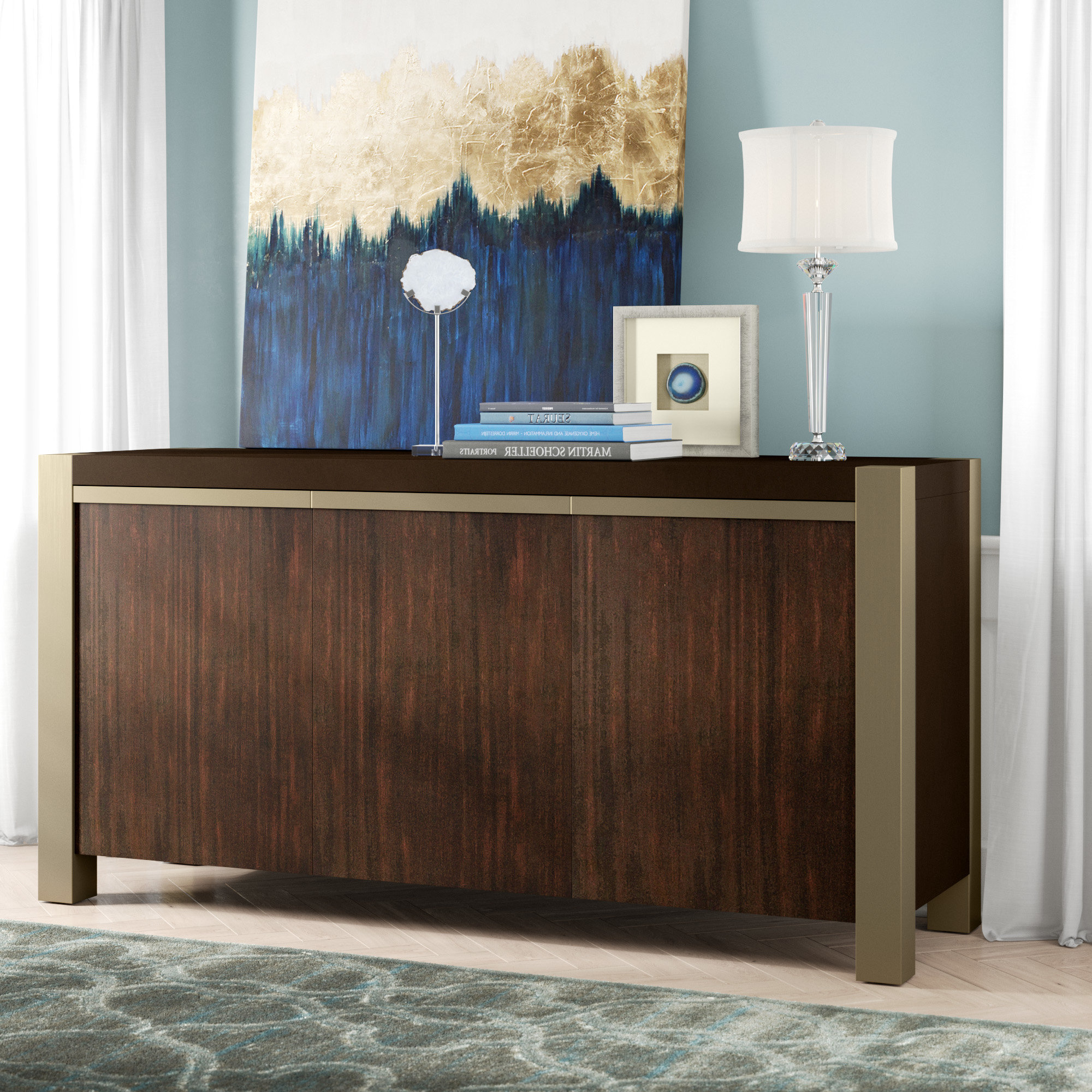 Cher Credenza Inside Cher Sideboards (View 2 of 20)