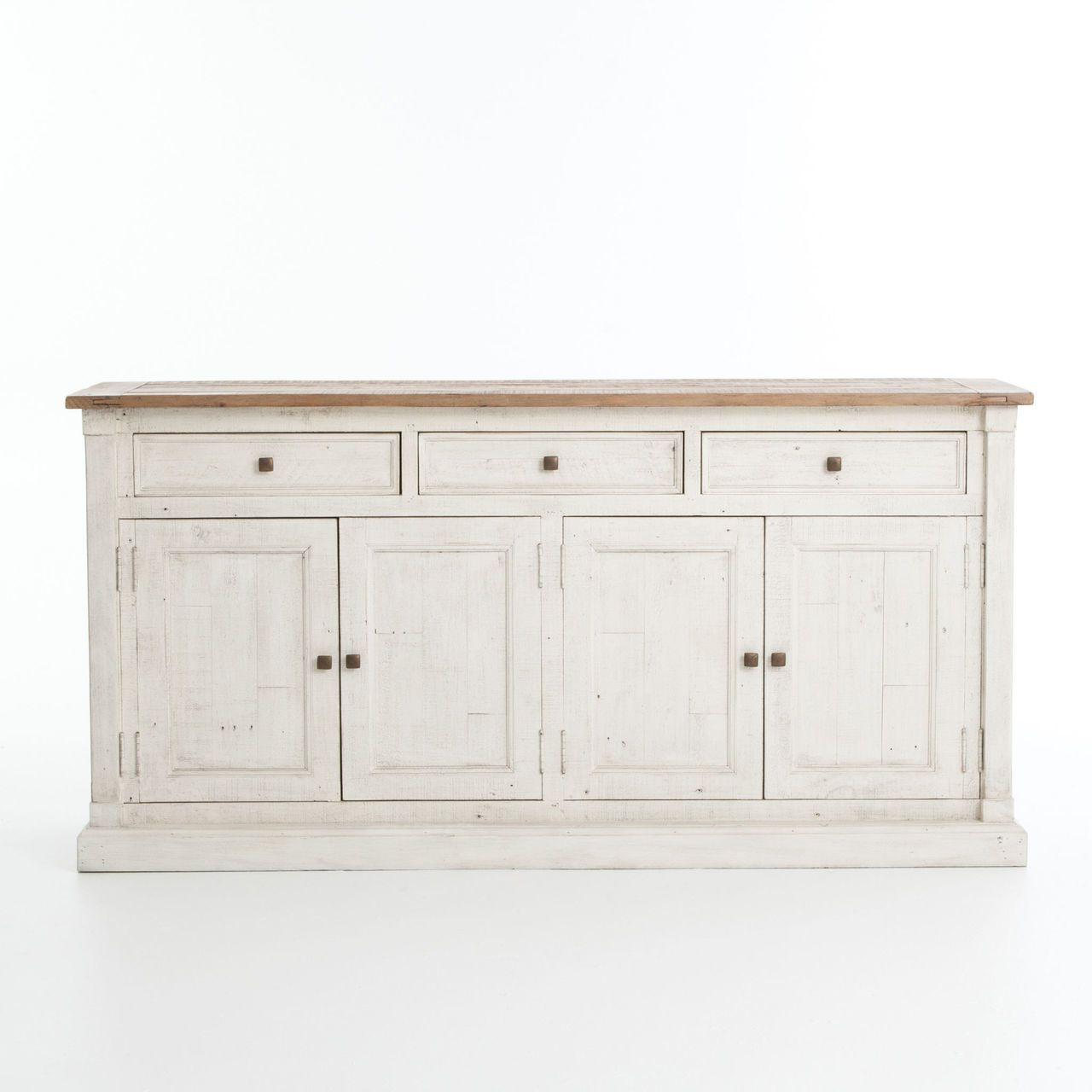 Cintra Reclaimed Wood White Sideboard Buffet | Dining Room With Regard To Payton Serving Sideboards (View 5 of 20)