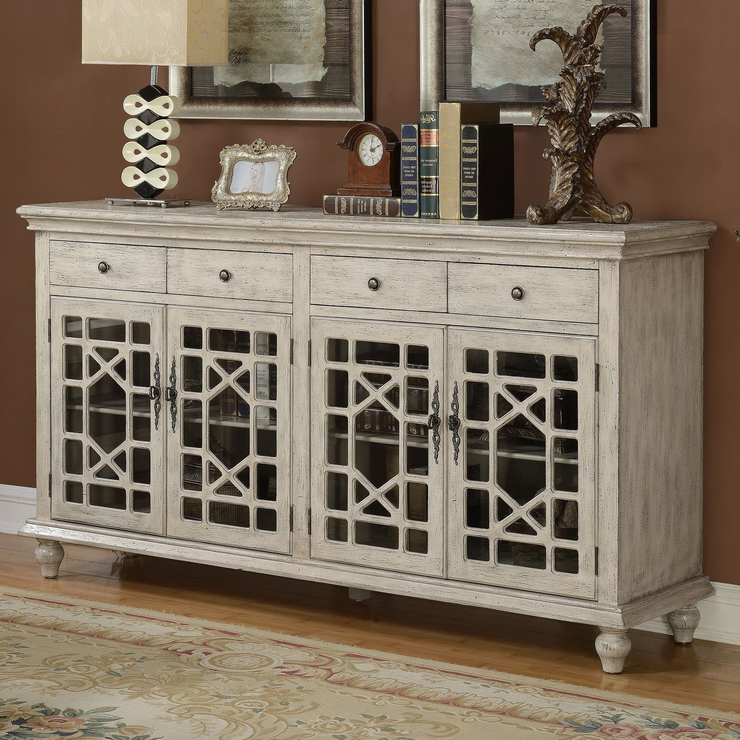 Coast To Coast Imports Millstone Credenza & Reviews With Raquette Sideboards (View 16 of 20)