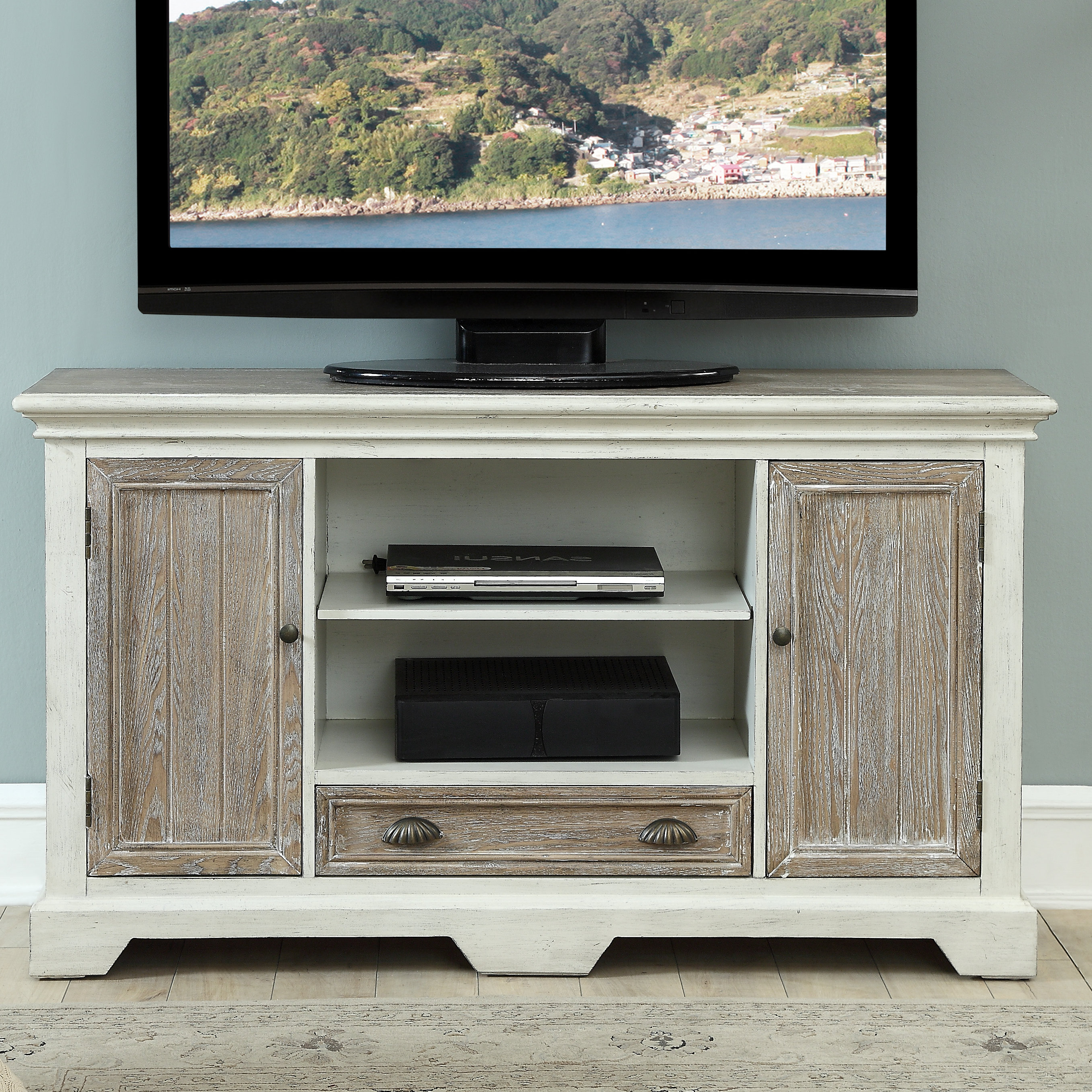 "Coastal Tv Stands | Birch Lane With Parmelee Tv Stands For Tvs Up To 65"" (View 19 of 20)"