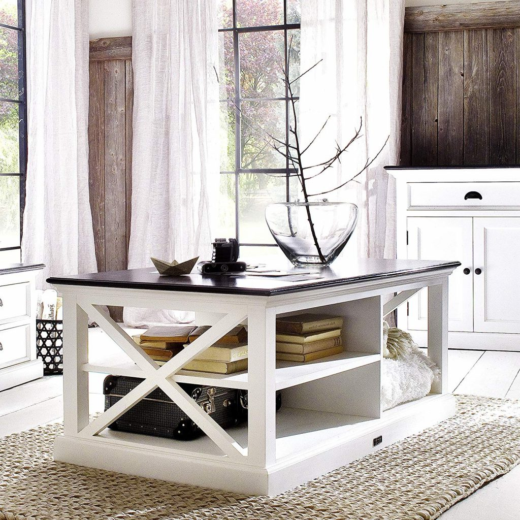 Coffe Table: Astonishing White Distressed Coffee Table Intended For Well Known Arella Ii Modern Distressed Grey White Coffee Tables (View 20 of 20)