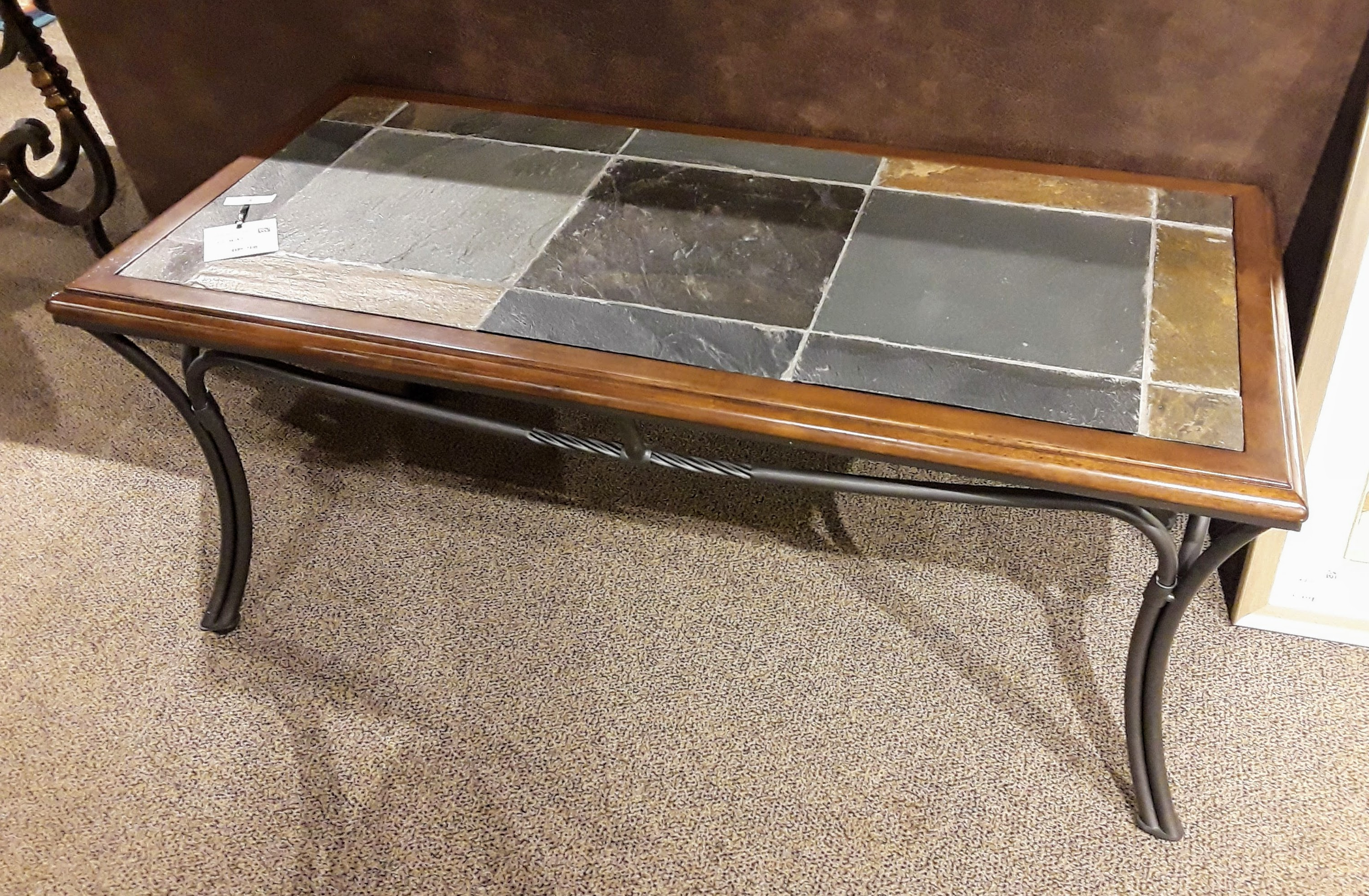 Coffe Table: Slate Tile Coffee Table (View 7 of 20)