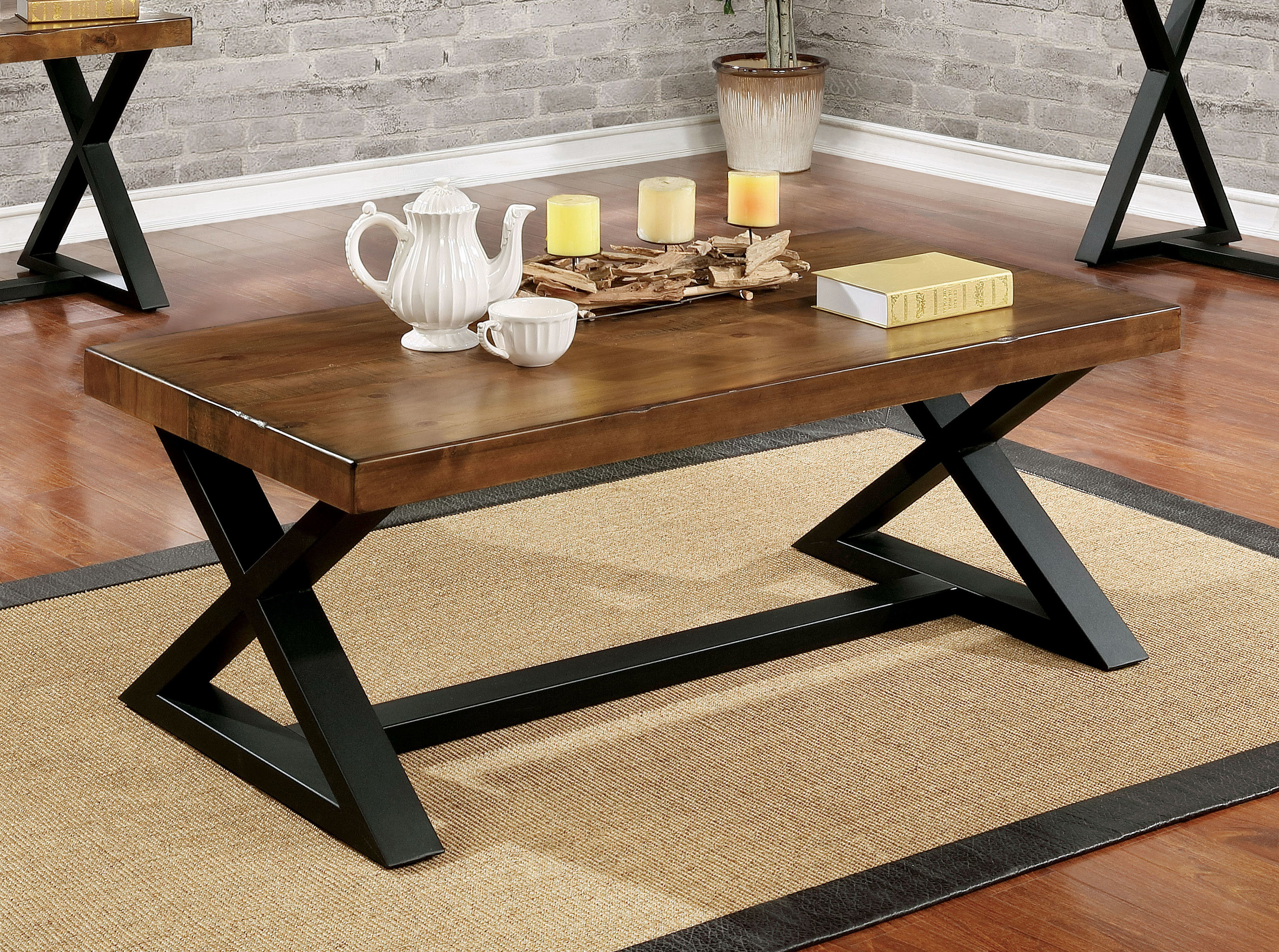 Coffee Tables Industrial Pertaining To Widely Used Sawyer Industrial Reclaimed Rectangular Cocktail Tables (View 20 of 20)