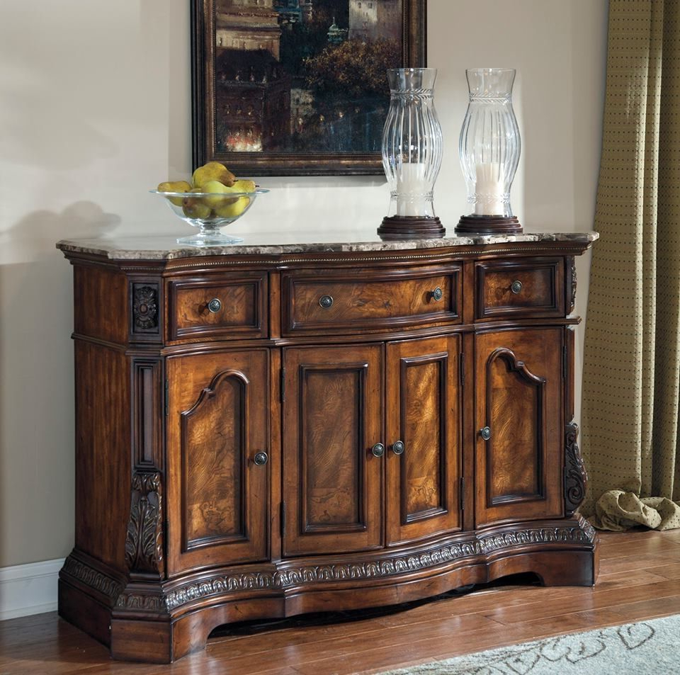 Console Table Ashley Furniture | Furniture | Dining Room In Kronburgh Sideboards (View 5 of 20)