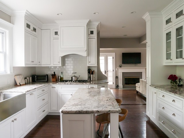 Contemporary Living – Traditional – Kitchen – Chicago – Within Widely Used Hyland Kitchen Pantry (View 19 of 20)