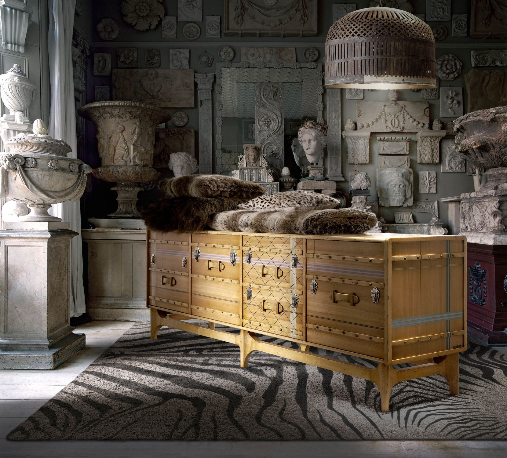 Contemporary Sideboard / Wooden / Custom – Suitcase: Ltv Inside Lola Sideboards (View 3 of 20)