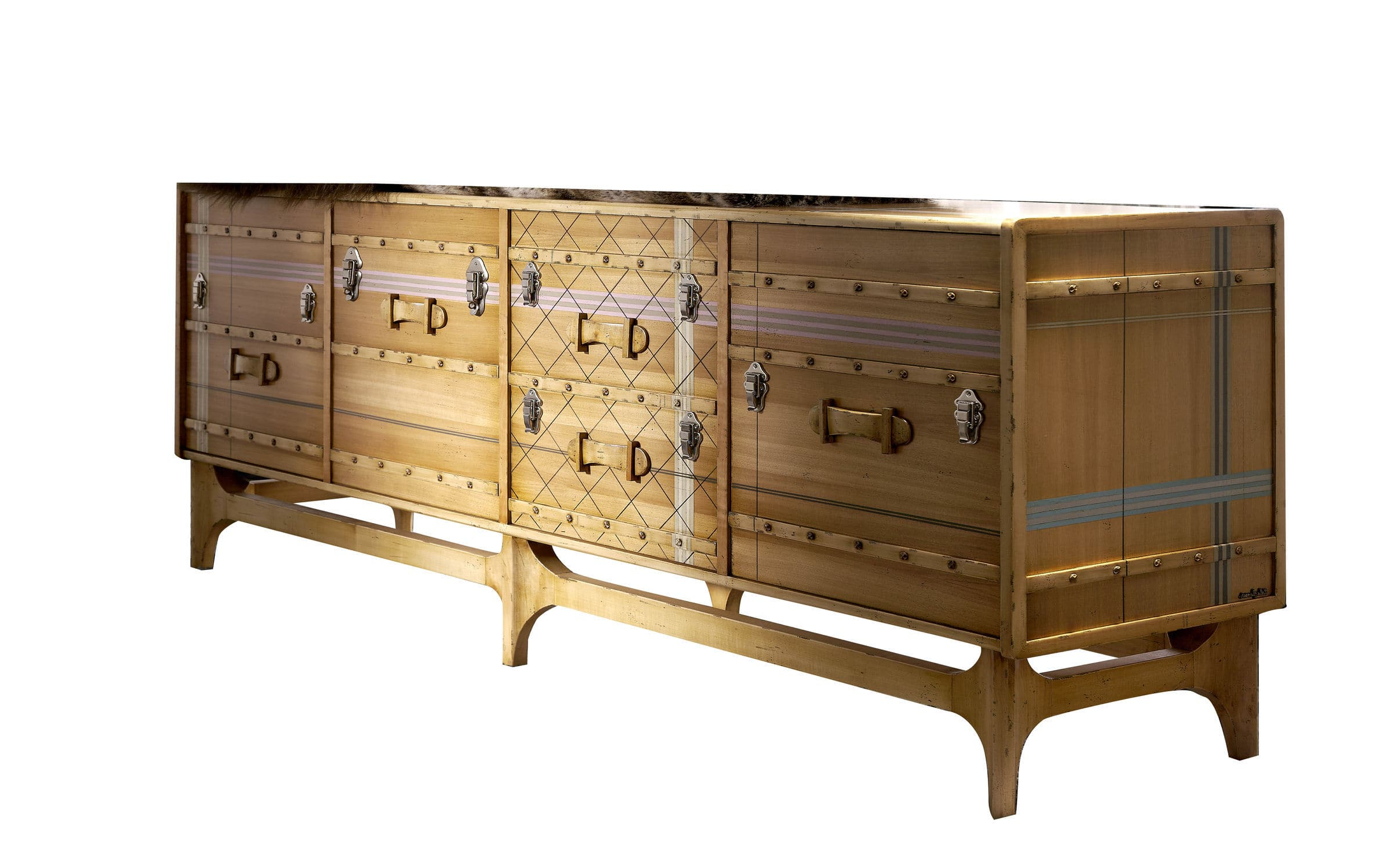 Contemporary Sideboard / Wooden / Custom – Suitcase: Ltv Inside Lola Sideboards (View 2 of 20)