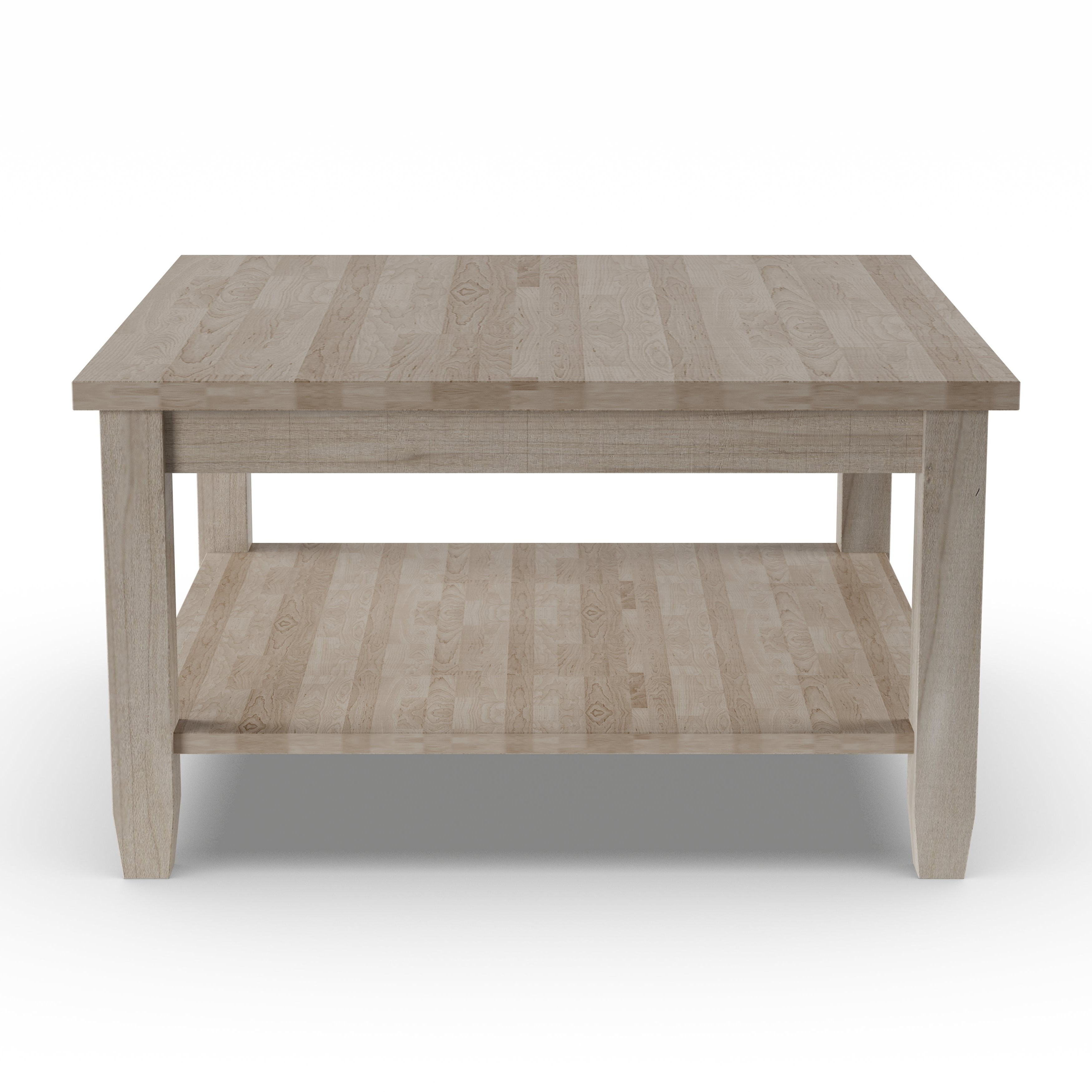 Copper Grove Chrysotome Square Unfinished Solid Parawood Coffee Table With Regard To 2019 Unfinished Solid Parawood Square Coffee Tables (View 3 of 20)
