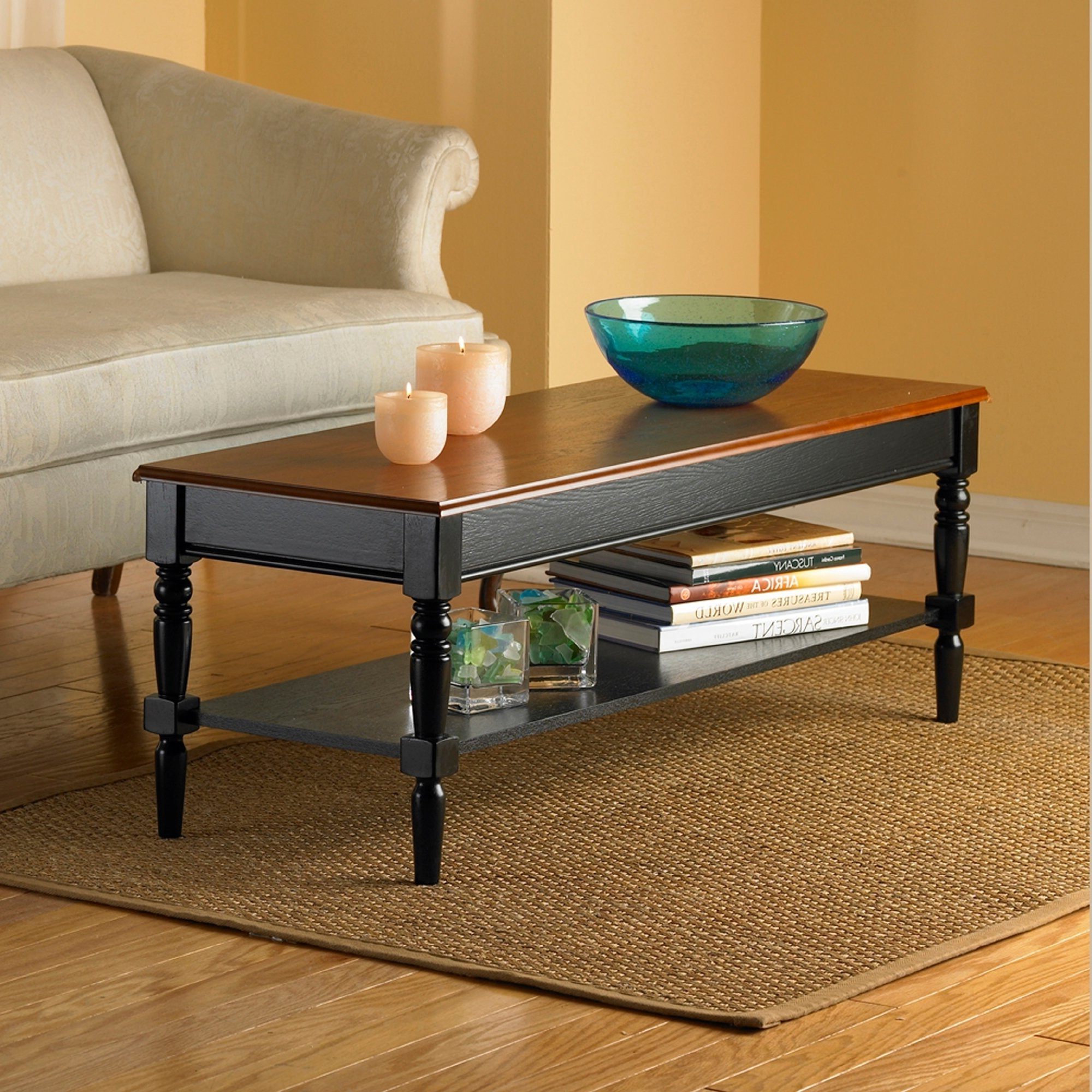 Copper Grove Lantana Coffee Table In Black (As Is Item Intended For Preferred Copper Grove Lantana Coffee Tables (View 6 of 20)