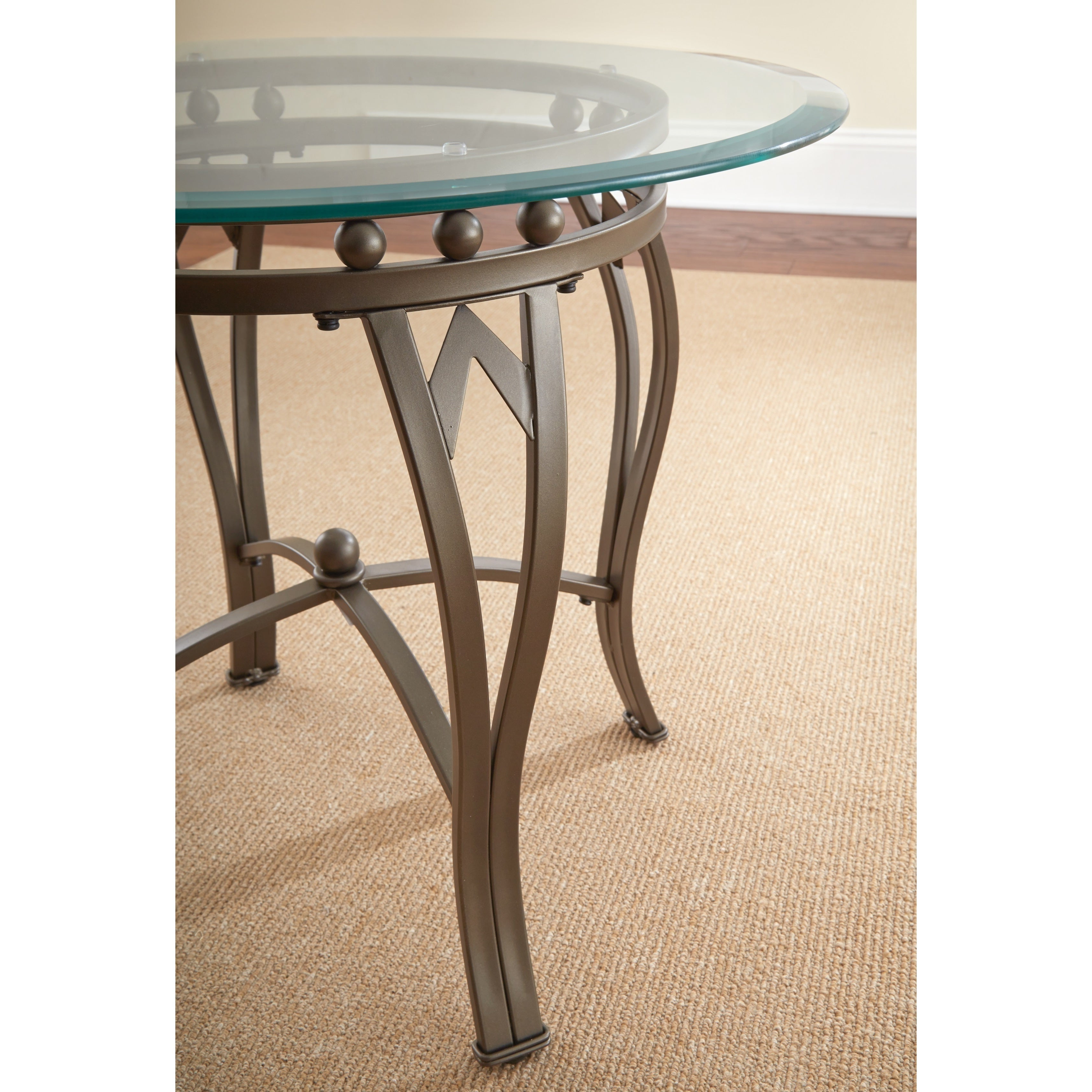 Copper Grove Woodend Glass Top Round End Table For Well Known Copper Grove Woodend Glass Top Oval Coffee Tables (View 5 of 20)