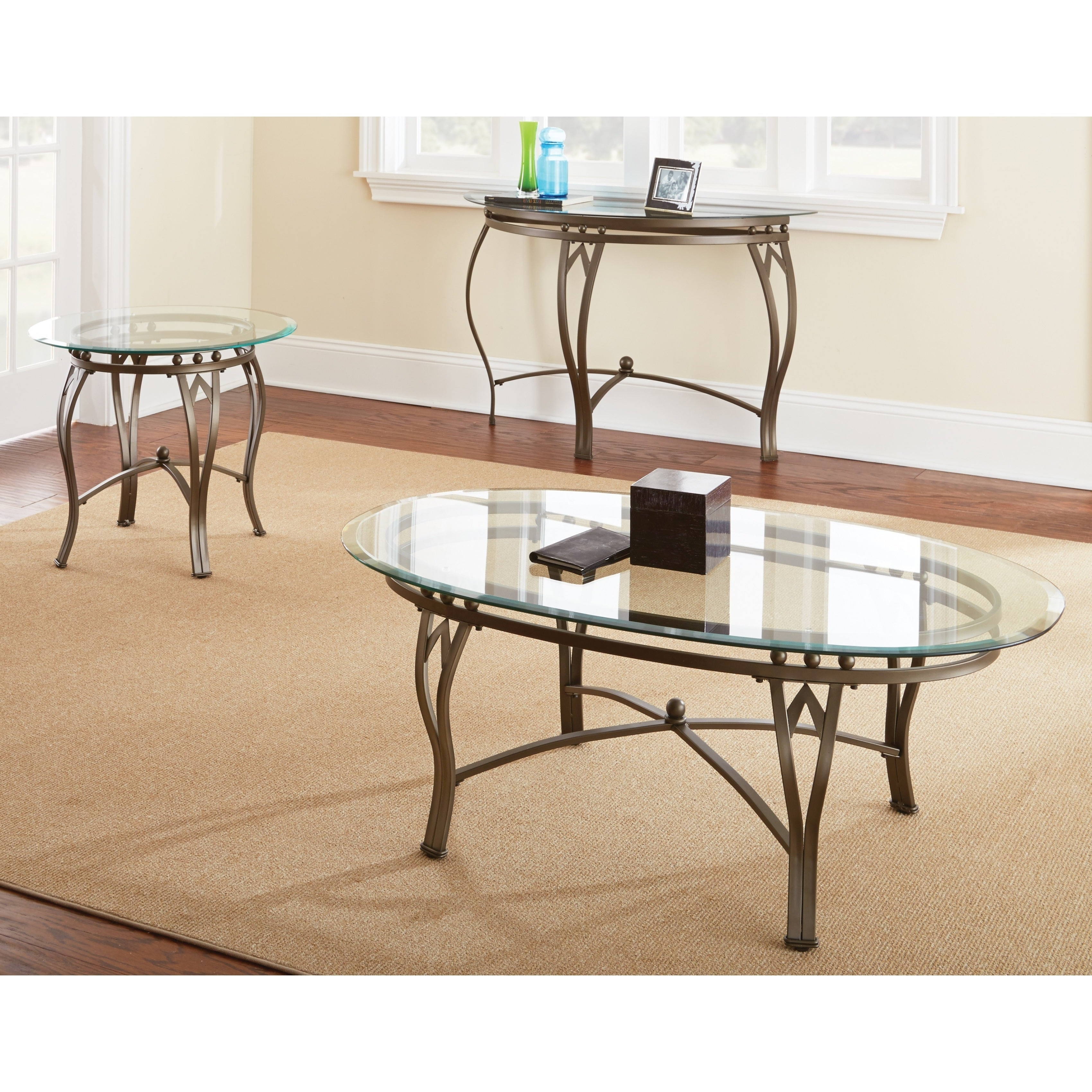 Copper Grove Woodend Glass Top Round End Table Pertaining To Widely Used Copper Grove Woodend Glass Top Oval Coffee Tables (View 7 of 20)