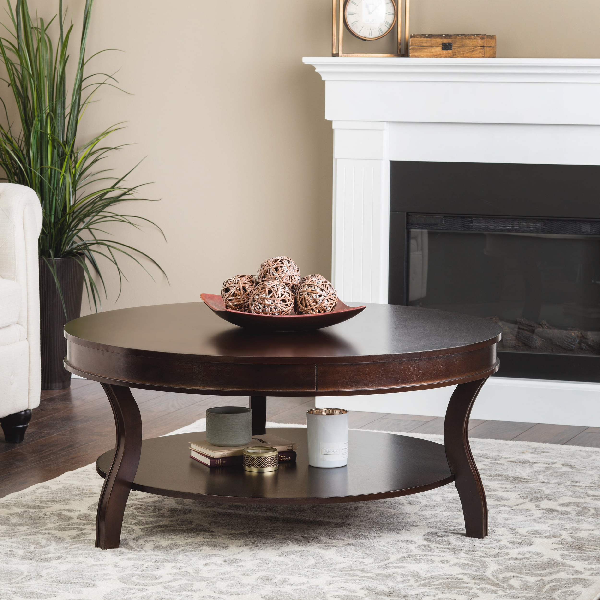 Copper Grove Wyatt Coffee Table With Preferred Copper Grove Halesia Chocolate Bronze Round Coffee Tables (View 2 of 20)