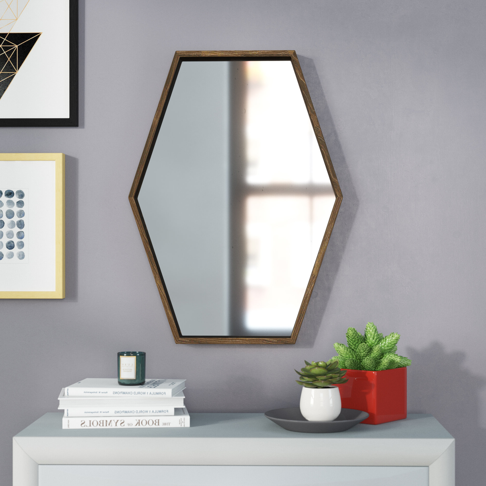 Corey Wood Accent Mirror Regarding Well Known Corey Rustic Brown Accent Tables (View 18 of 20)