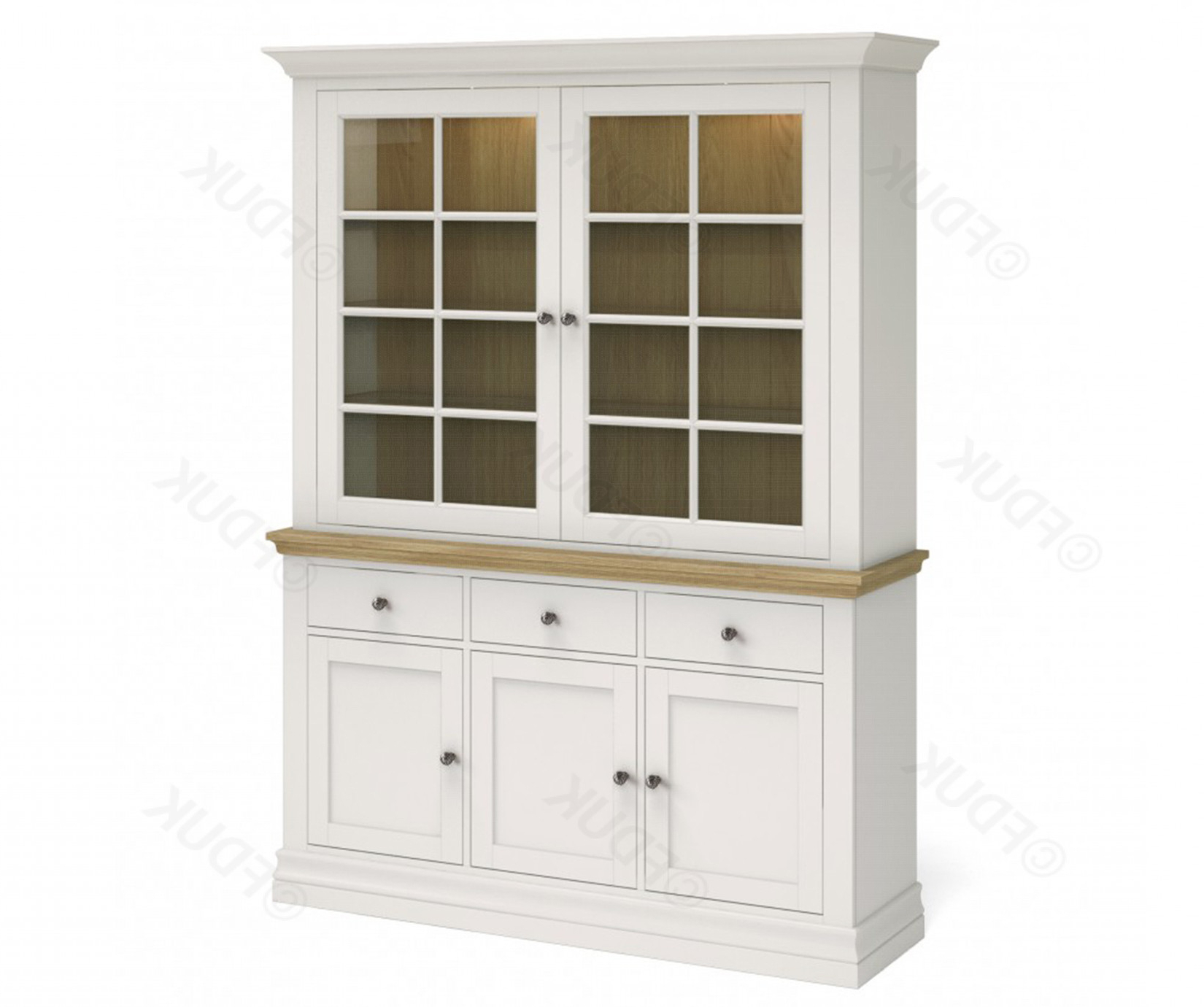Corndell Annecy Large Sideboard With Dresser Top Fduk Best Price Guarantee We Will Beat Our Competitors Price! Give Our Sales Team A Call On 0116 235 With Regard To Annecy Sideboards (View 11 of 20)