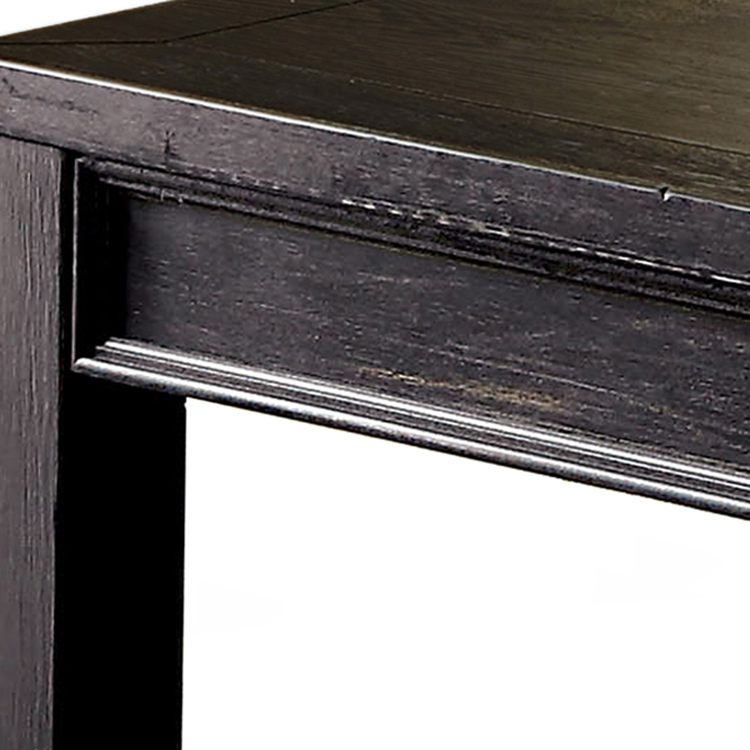 Cosbin Rustic Bold Antique Black Coffee Tablefoa Throughout Recent Cosbin Rustic Bold Antique Black Coffee Tables (View 4 of 20)