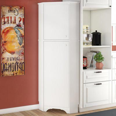 "Crimmins Kitchen Pantry Pertaining To Latest Red Barrel Studio Crimmins 72"" Kitchen Pantry #homedecordiy (View 6 of 20)"
