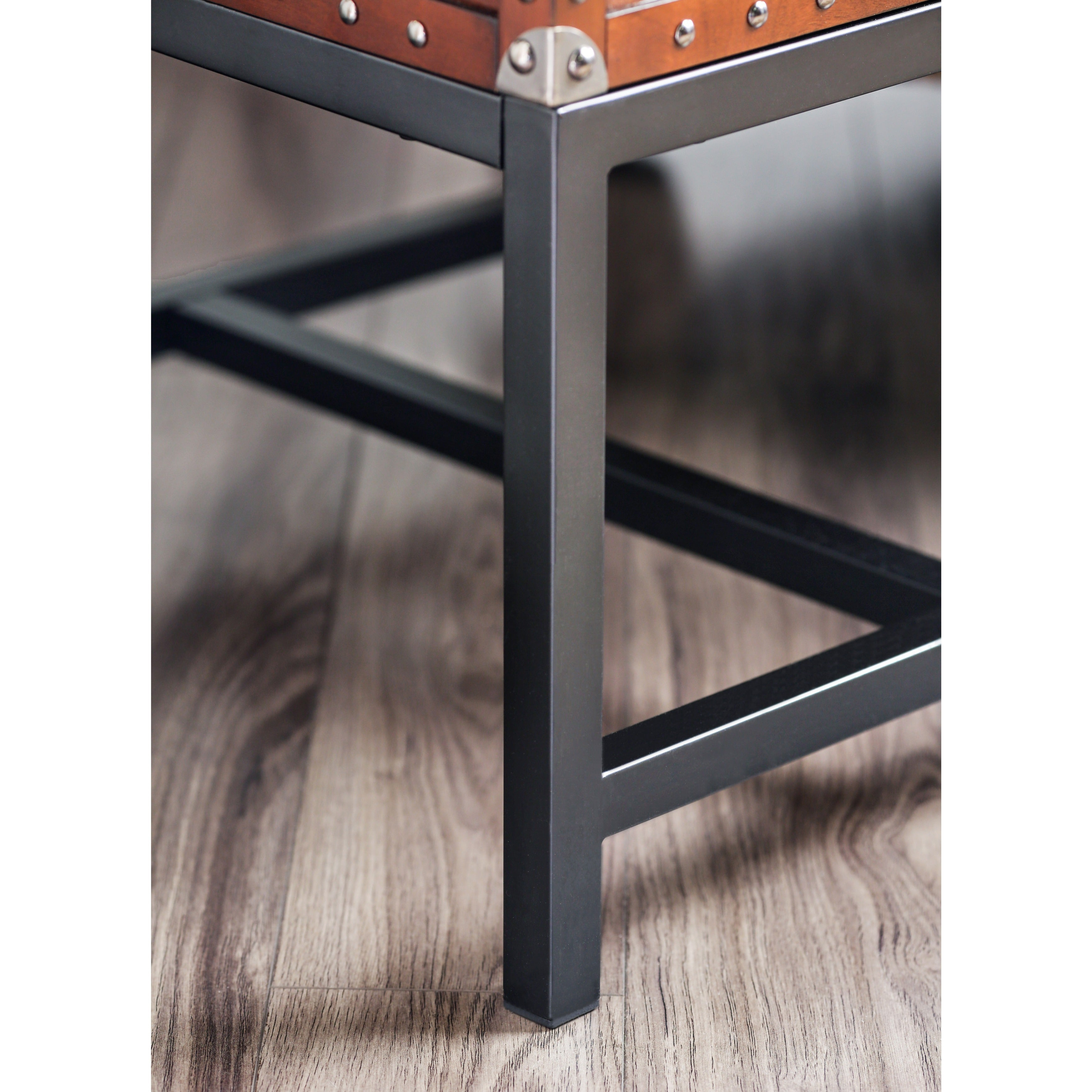 Current Dravens Industrial Cherry Coffee Tables With Dravens Industrial Cherry Coffee Tablefoa (View 4 of 20)