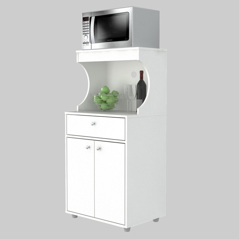 """Current Elliana Storage 50"""" Kitchen Pantry With Argana Kitchen Pantry (View 10 of 20)"""