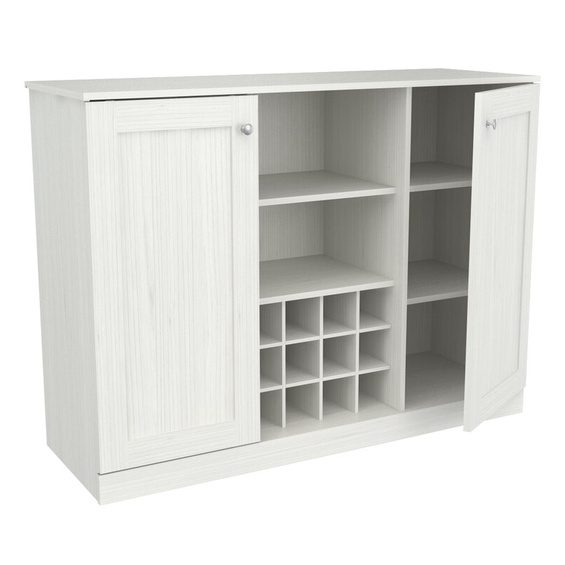 """Current Hythe 3 Piece Buffet 71"""" Kitchen Pantry Inside Amaia 3 Piece Kitchen Pantry (View 10 of 20)"""