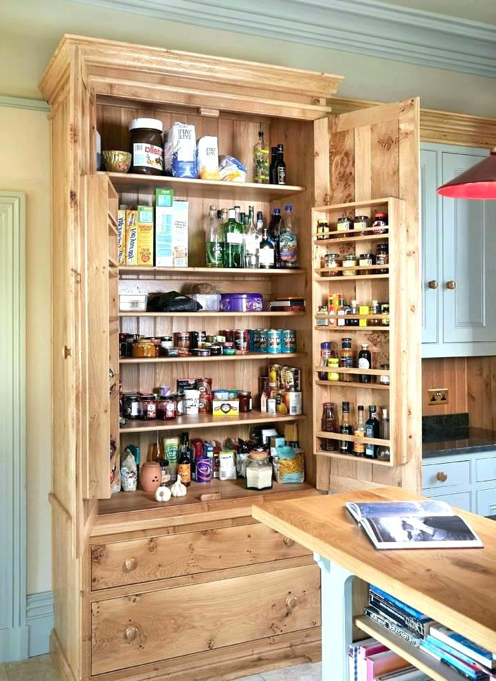 Current Kitchen Pantry Cabinet Freestanding – Kitchen Appliances Intended For Teegarden Kitchen Pantry (View 5 of 20)