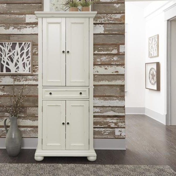 Current Olivas Kitchen Pantry For Usl Olivia Large Storage Pantry Sk19087Br1 Gy – The Home Depot (View 3 of 20)