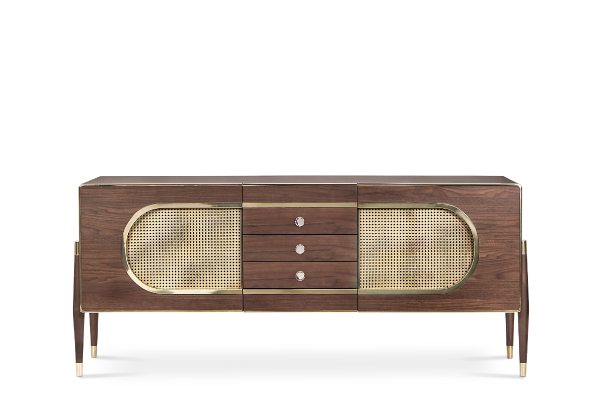 Dandy Sideboard | Essential Home | Mid Century Furniture In South Miami Sideboards (View 20 of 20)