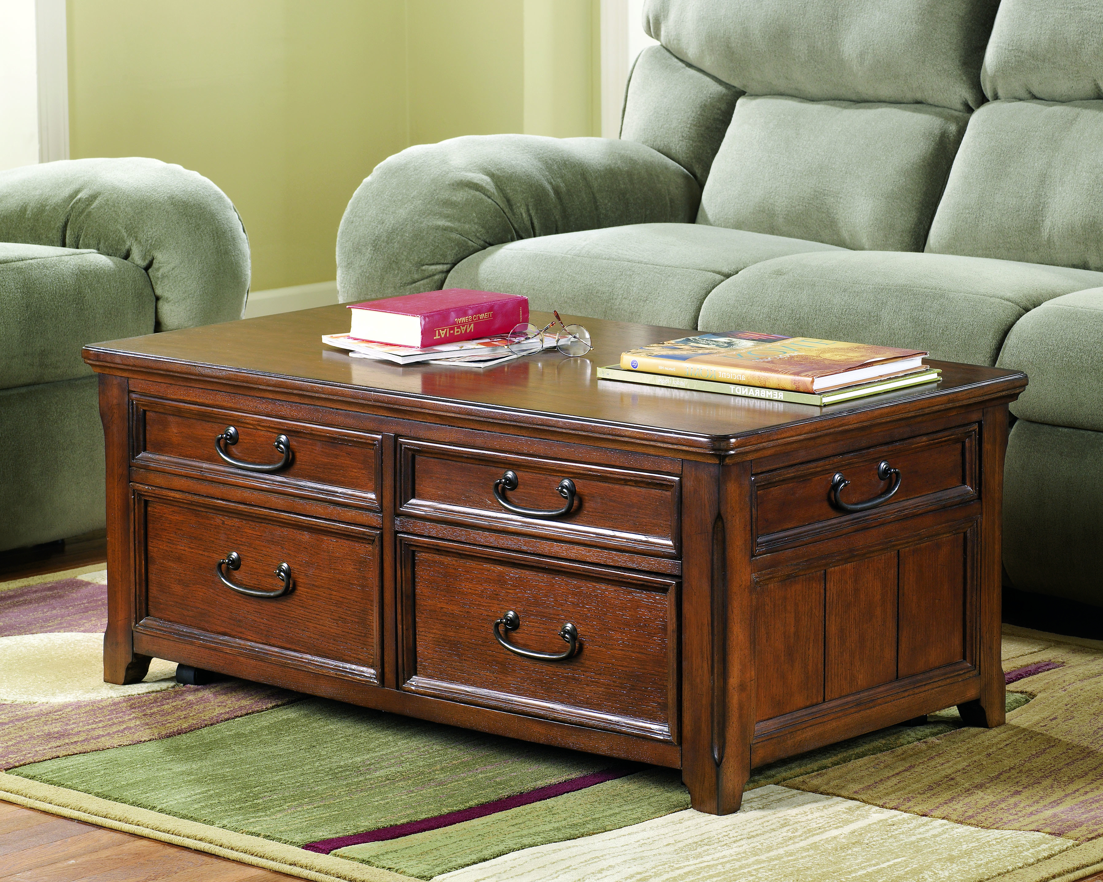 Dark Cherry Coffee Table Set & Dark Cherry Coffee Table Pertaining To Most Recently Released Furniture Of America Crescent Dark Cherry Glass Top Oval Coffee Tables (View 5 of 20)