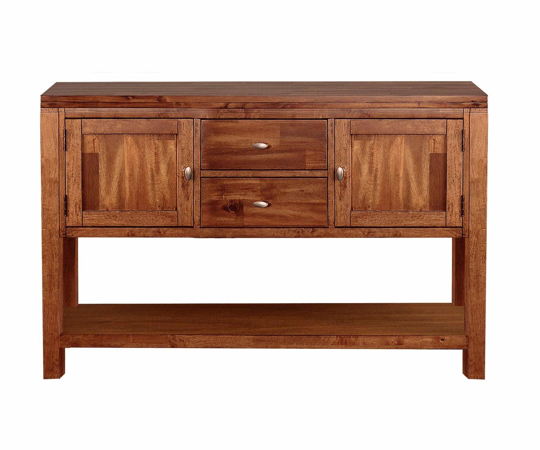 Dark Wood Sideboard | Wayfair With Arminta Wood Sideboards (View 2 of 20)