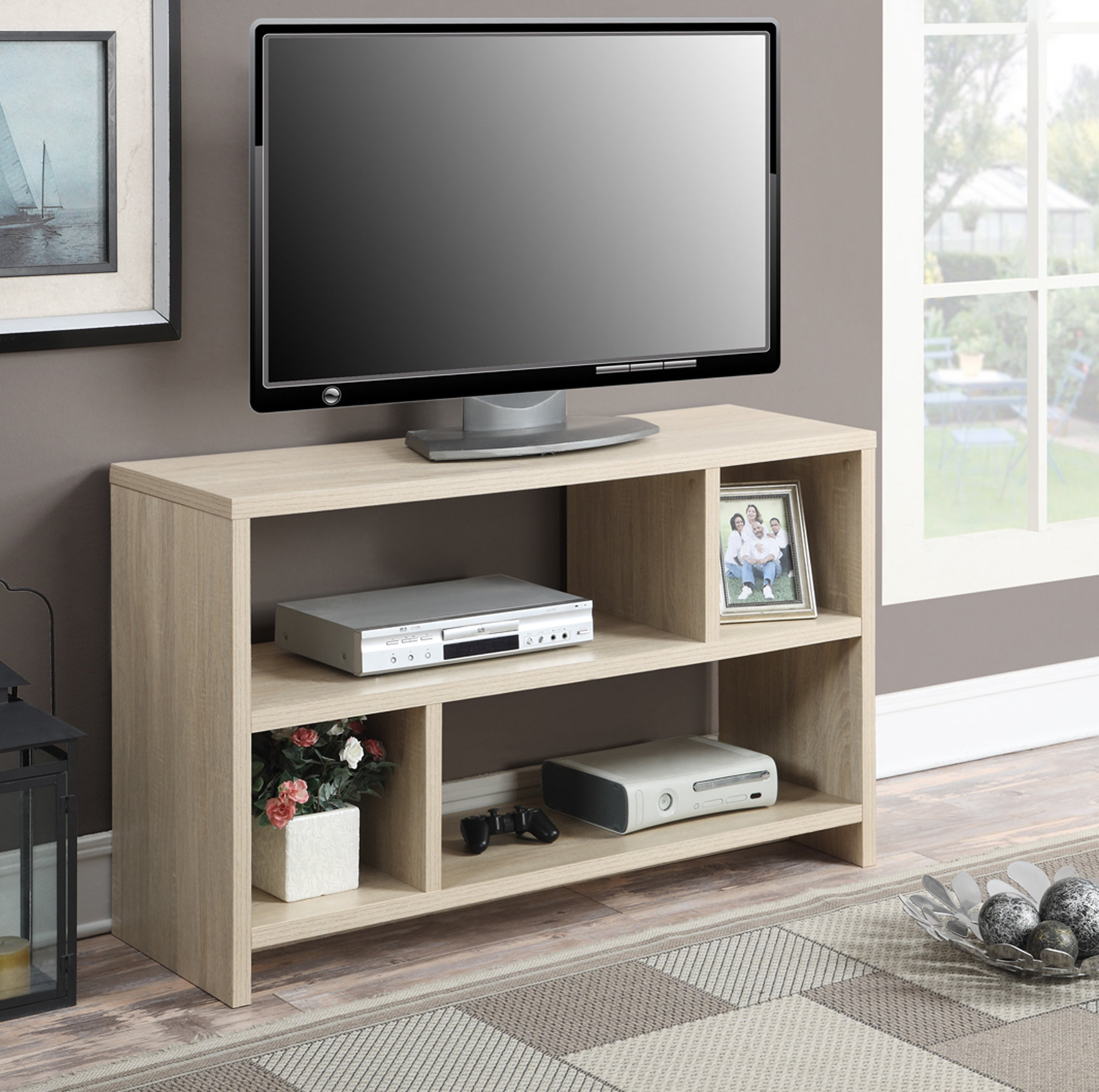 "D'aulizio Tv Stand For Tvs Up To 43"" Pertaining To Ericka Tv Stands For Tvs Up To 42"" (View 4 of 20)"