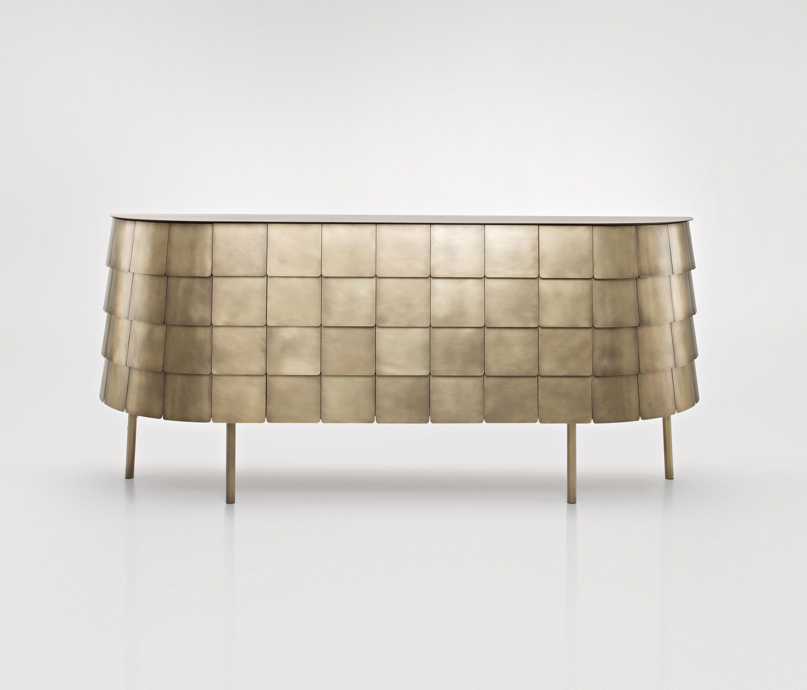 De Castelli: Metal At Its Finest | Side Board | Furniture Within Castelli Sideboards (View 4 of 20)