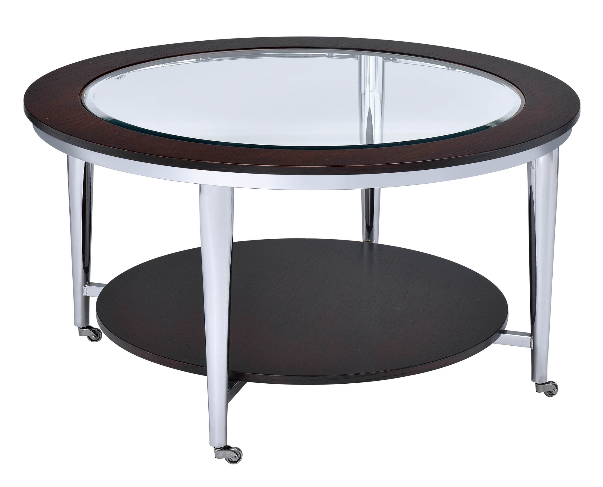 Details About Orren Ellis Lefker Coffee Table With Regard To Favorite Cortesi Home Remi Contemporary Chrome Glass Coffee Tables (View 9 of 20)