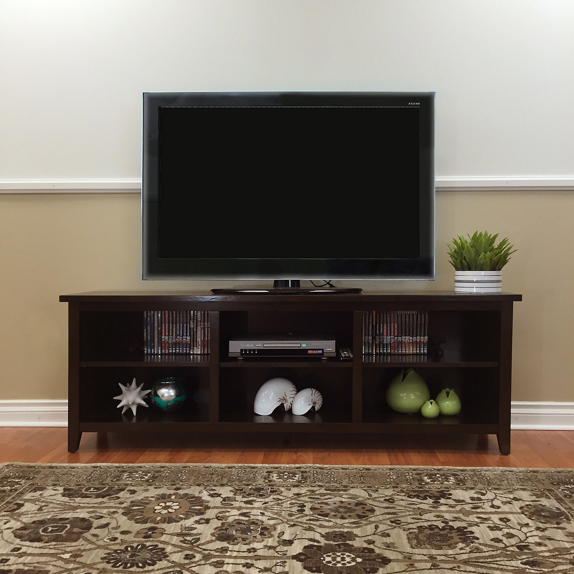 "Details About Red Barrel Studio Fella Tv Stand For Tvs Up To 78"" In Ericka Tv Stands For Tvs Up To 42"" (View 7 of 20)"