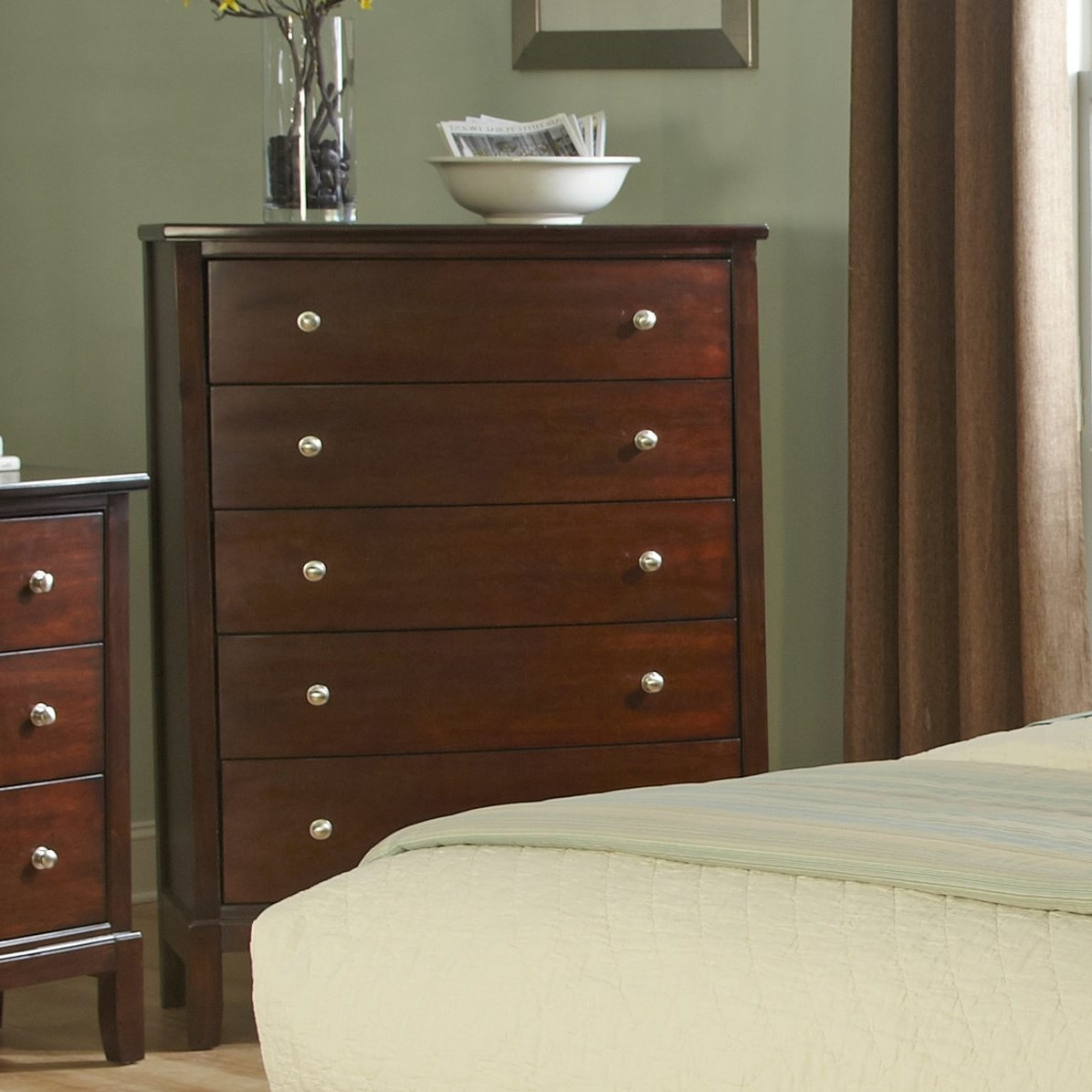 Details About Wildon Home® Denver 5 Drawer Chest Within Sideboards By Wildon Home (View 17 of 20)