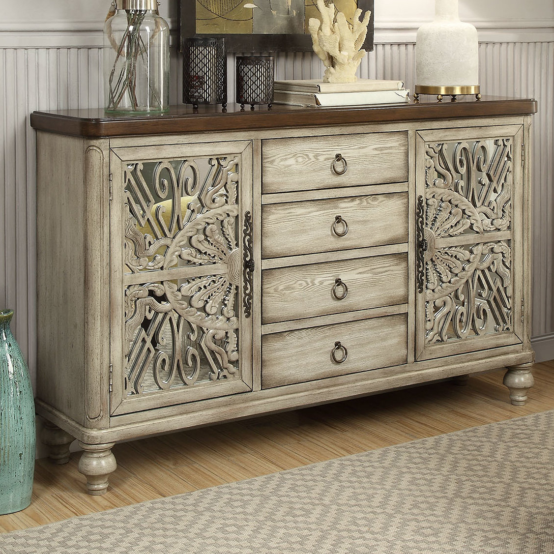 Dillen Sideboard With Mauzy Sideboards (View 7 of 20)