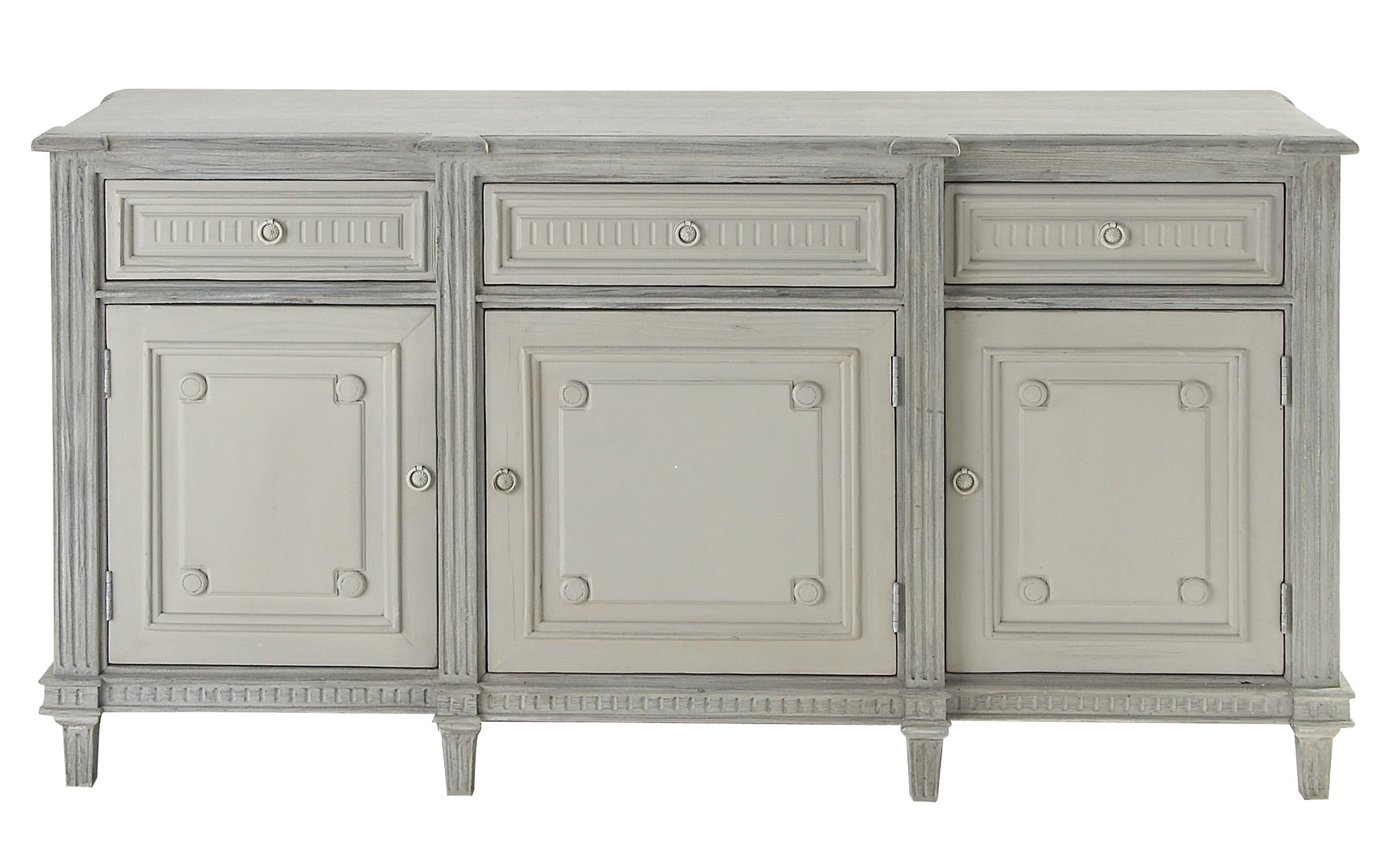 Distressed Finish Grey Sideboards & Buffets You'll Love In In Cazenovia Charnley Sideboards (View 9 of 20)