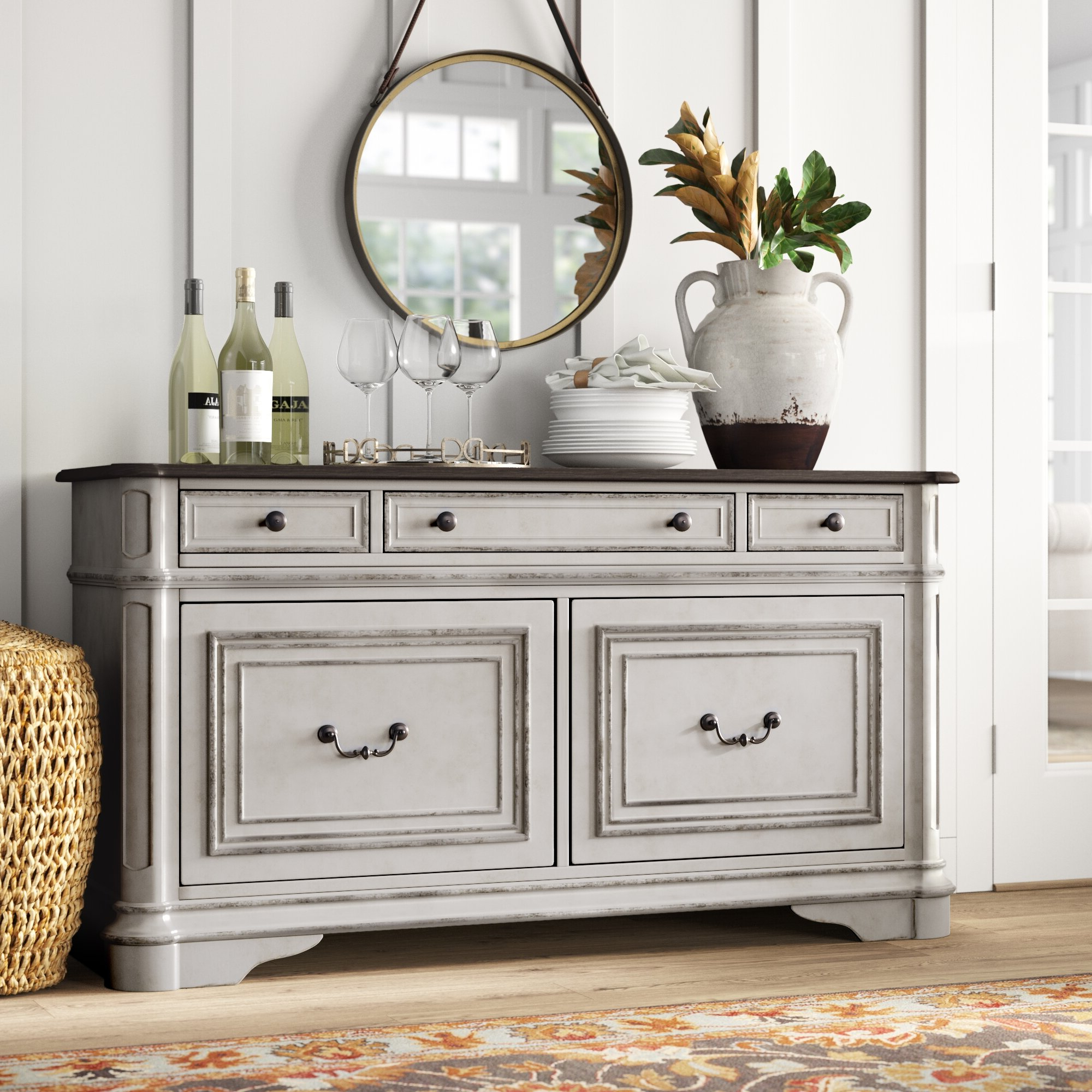 Drawer Equipped Sideboards & Buffets You'll Love In 2019 For Joyner Sideboards (View 3 of 20)