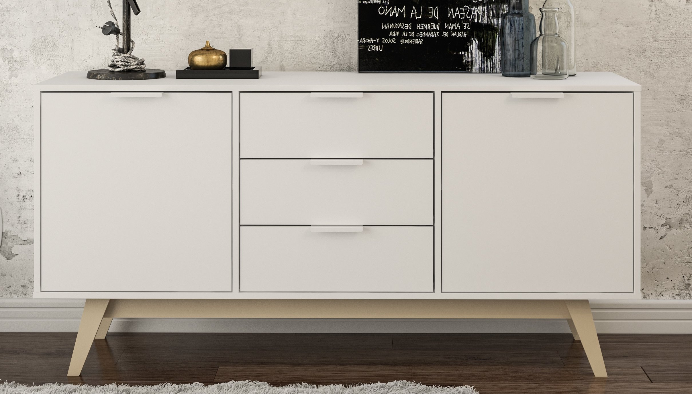Drawer Equipped Sideboards & Buffets You'll Love In 2019 Inside Joyner Sideboards (View 7 of 20)