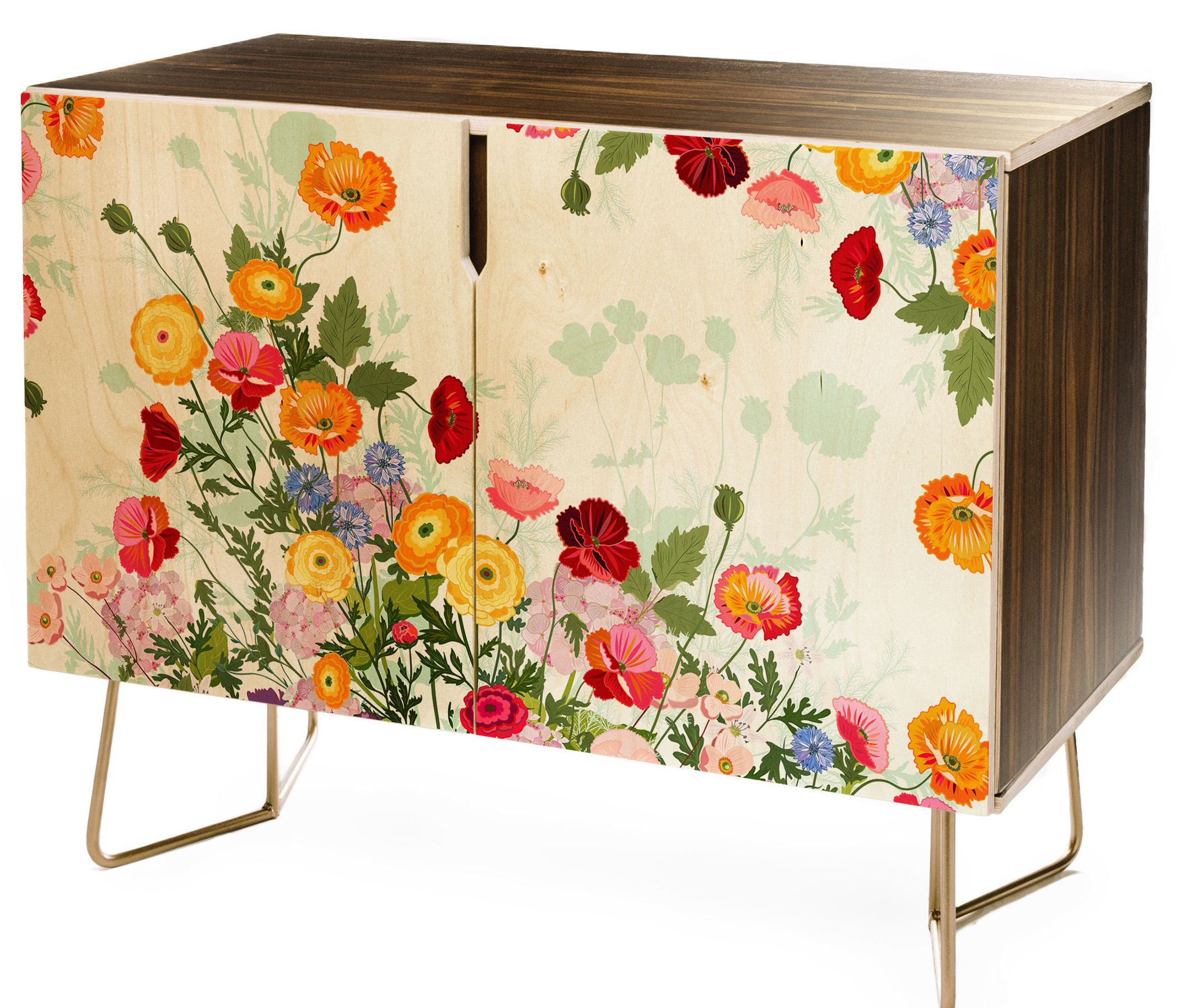 East Urban Home Iveta Abolina Emmaline Credenza In 2019 Throughout Emmaline Sideboards (View 3 of 20)